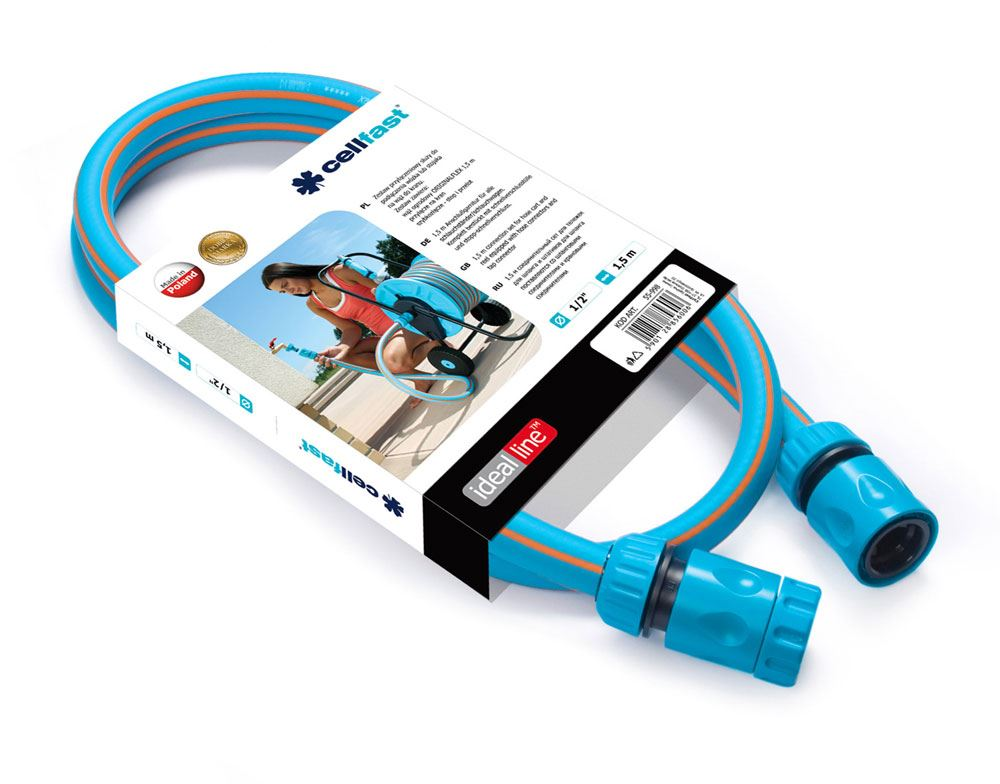 """1/"""" 1inch Quick Connect Heavy Duty Hose System 3-way Splitter 1/"""" to Standard"""