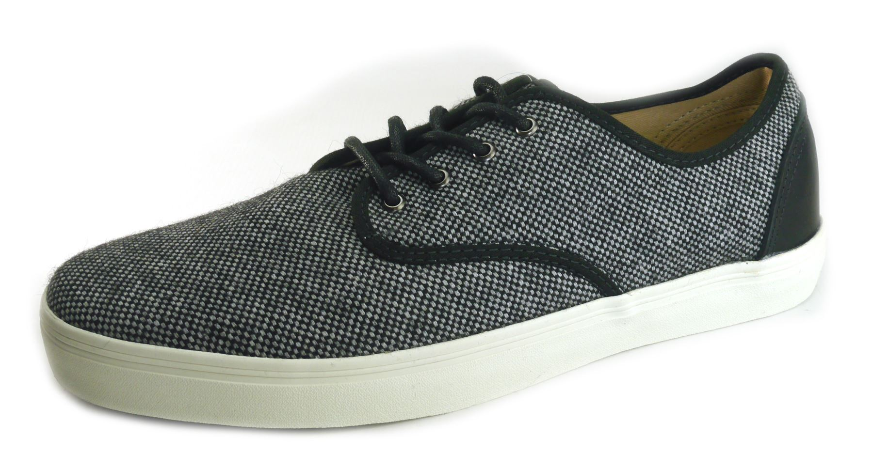 7026cd1585 Details about Vans Tweed Casual Canvas Summer Shoes Grey
