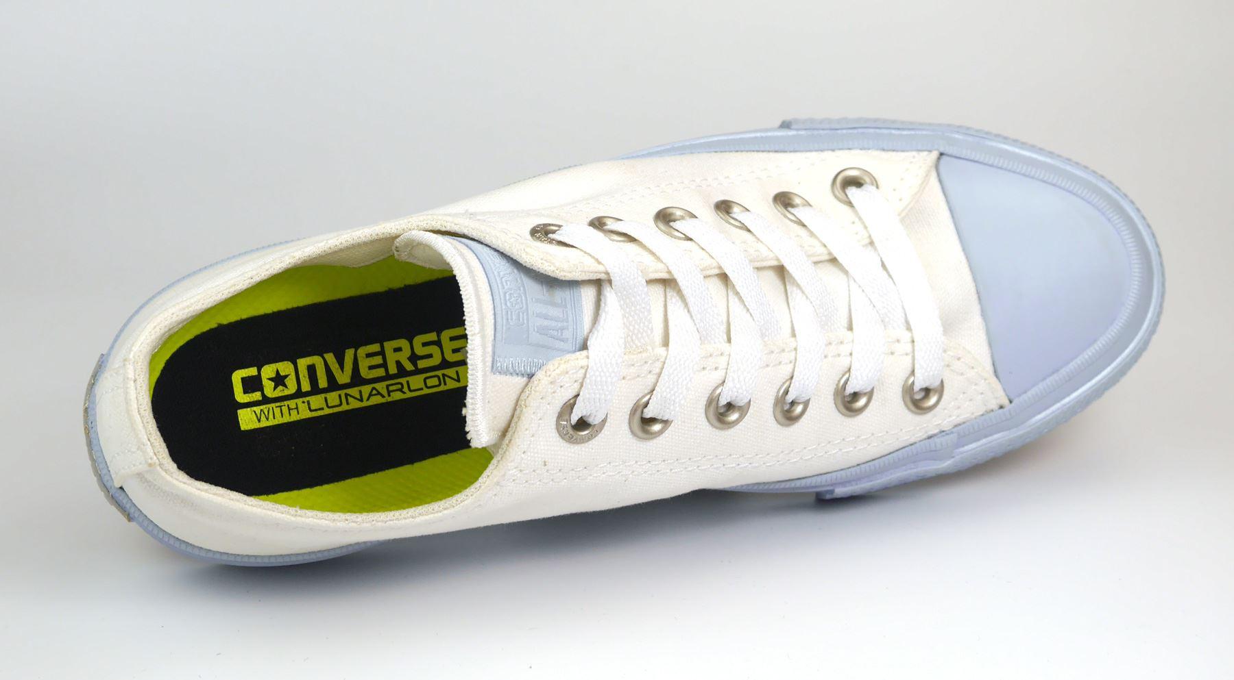 Détails sur Converse 155727c Blanc