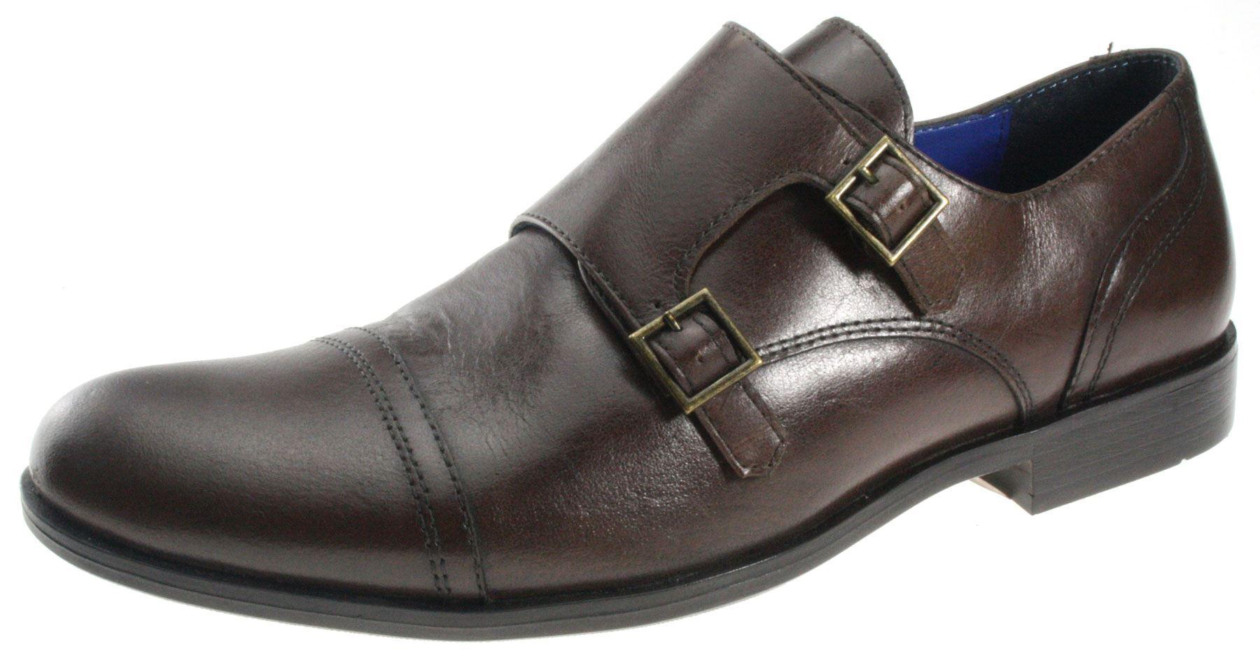 Zapatos negros con hebilla formales Red tape para hombre FGGo47sK