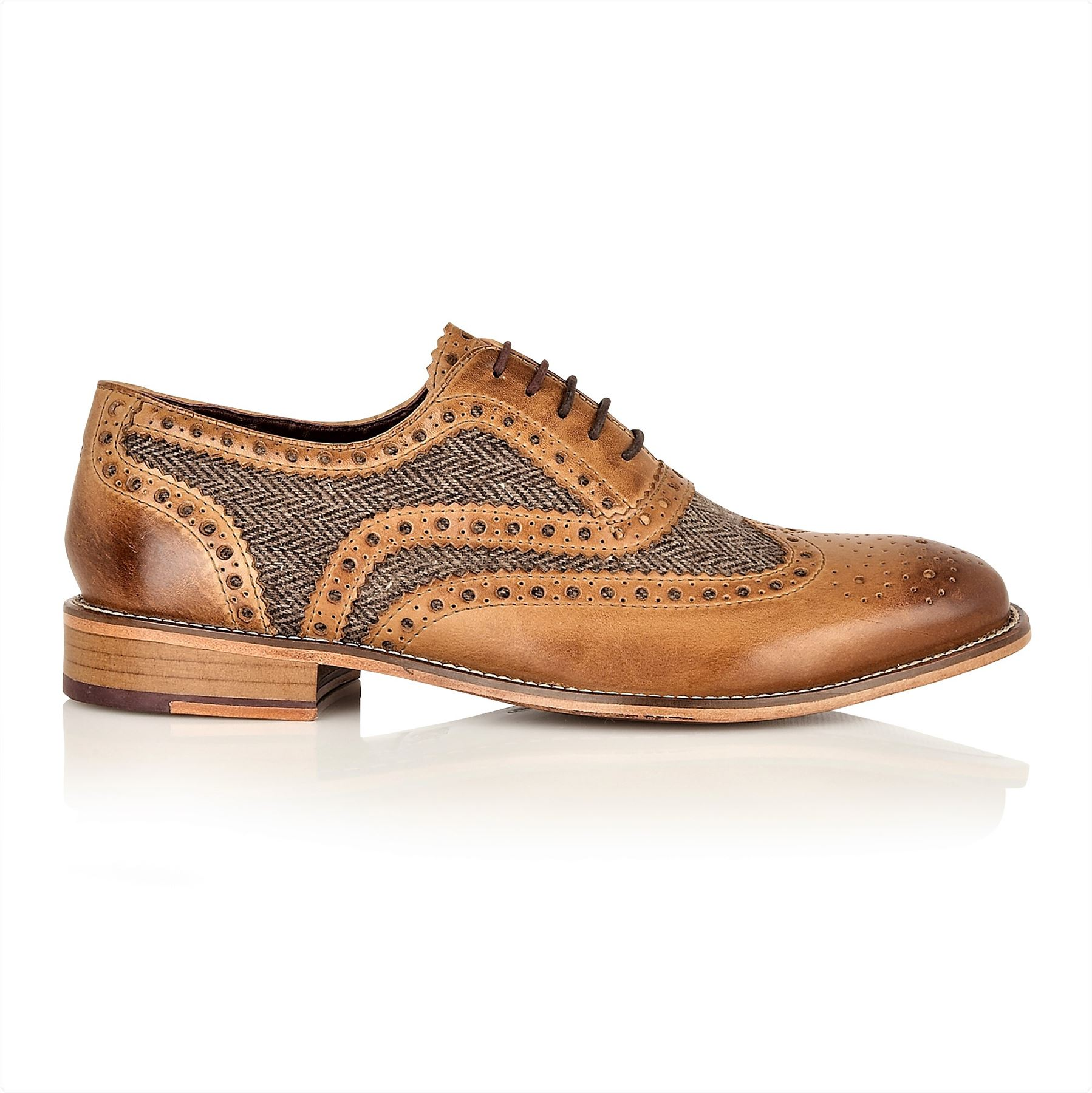 London Brogues Watson Leather Sole Mens