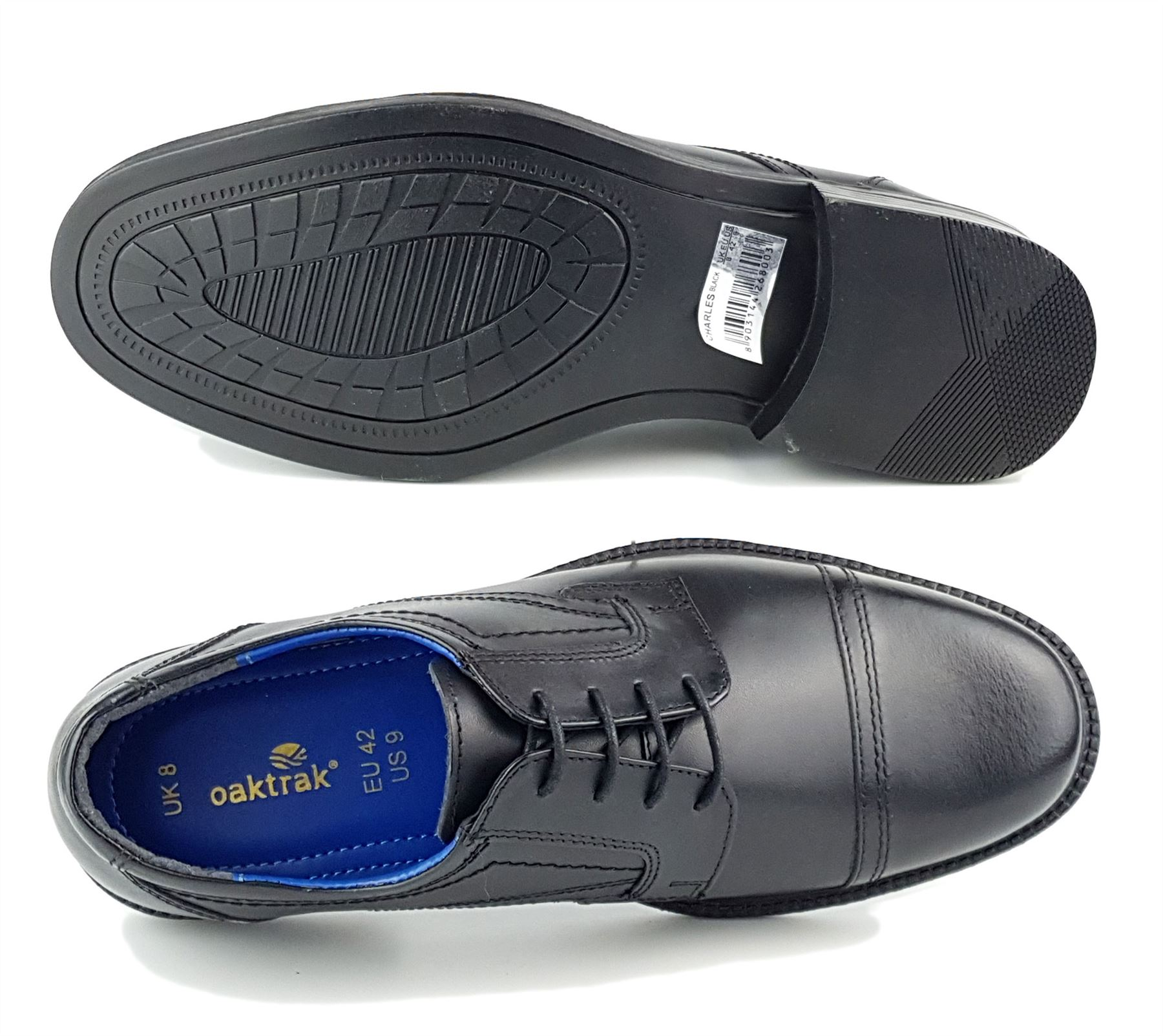 100/% Leather Mens Formal Shoes Office *LOW STOCK CLEARNCE PRICE* UK//8 EU//42