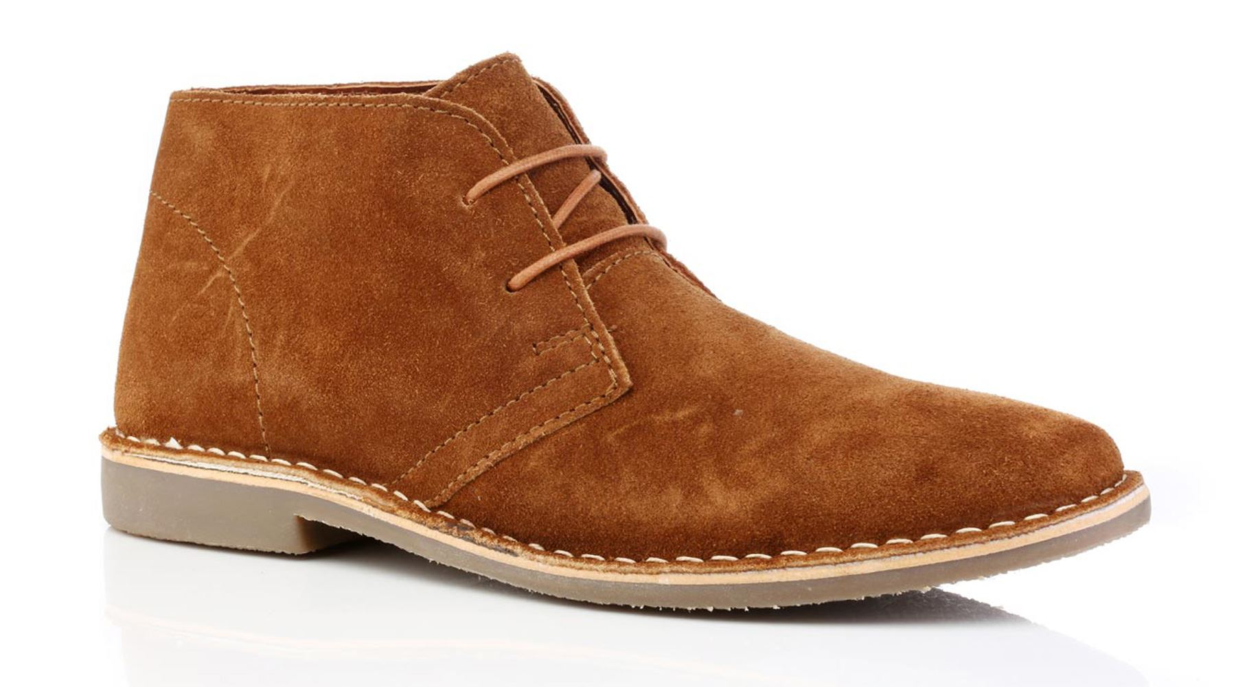 4174ec3882e696 Redtape Gobi cuir suède lacent des bottes pour hommes. Ces daim desert boots  très à la mode sont parfaits pour toutes les occasions formel ou  décontracté.