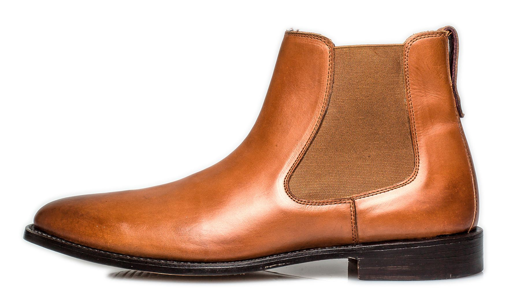 8b8a968429c Details about London Brogues Harvey Chelsea Goodyear Welted Mens Leather  Boots