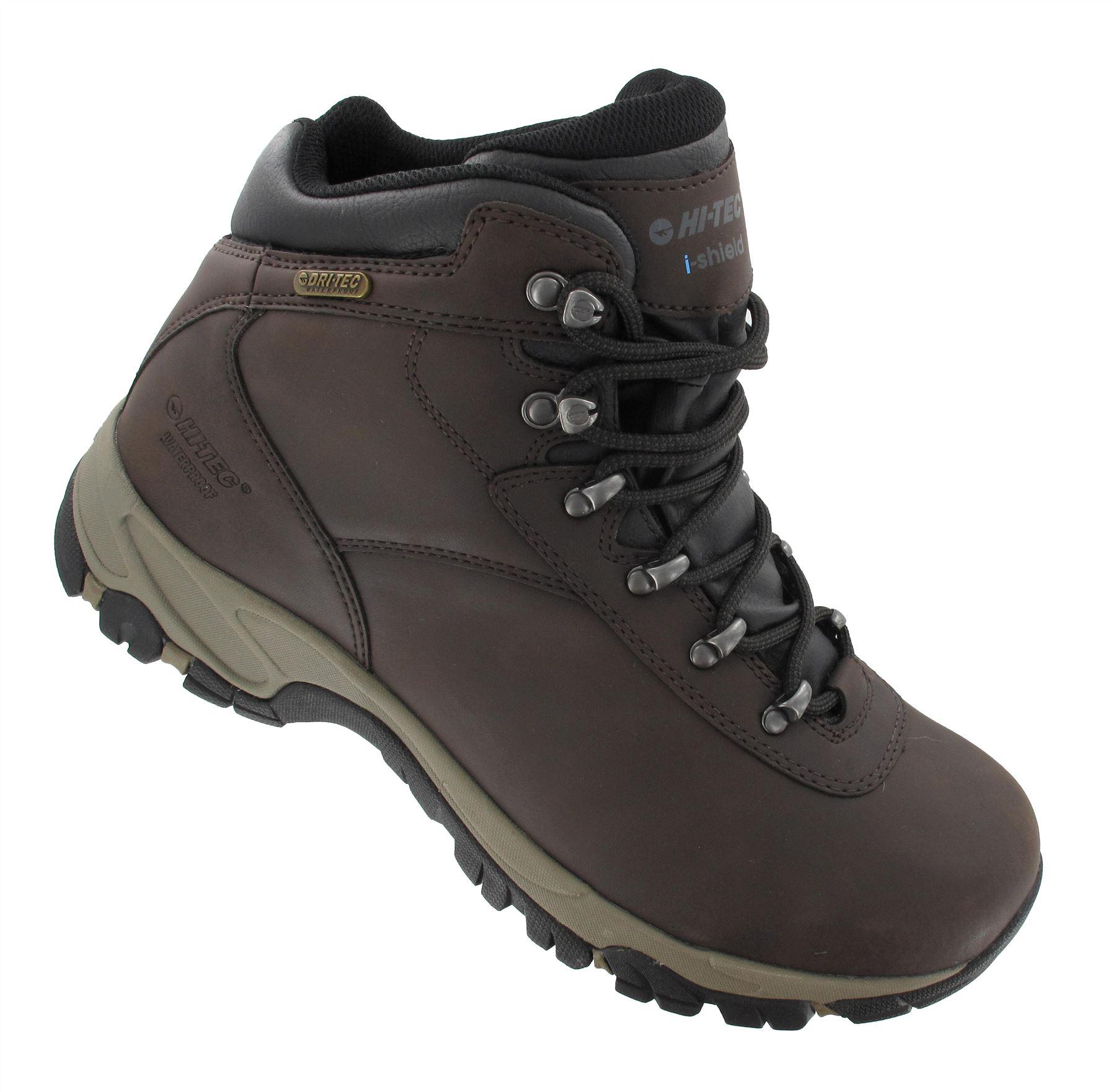 Hi Tec Altitude VI WP Da Marrone Uomo Marrone Da Impermeabili Da Passeggio Escursioni Stivali in Pelle in Pizzo 248a9a
