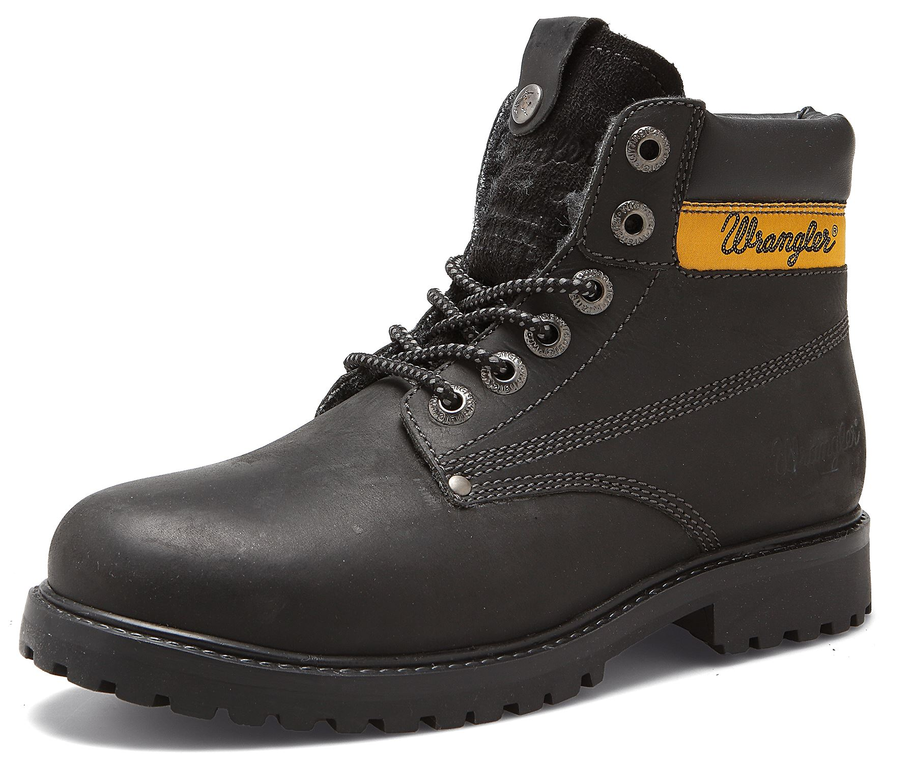 Chaussure À Lacets Wrangler x16vY