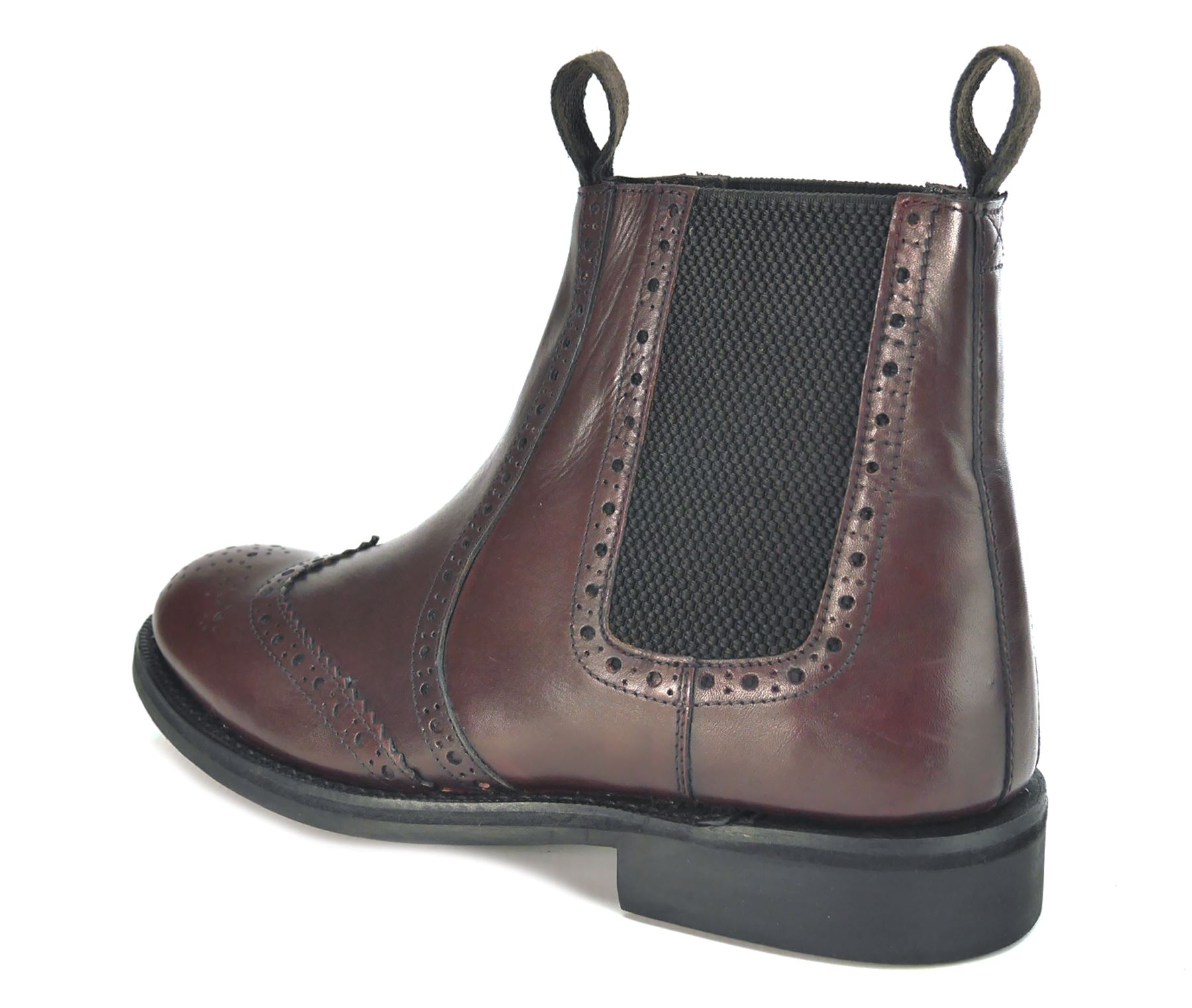 frank benchgrade leather welted chelsea brogue