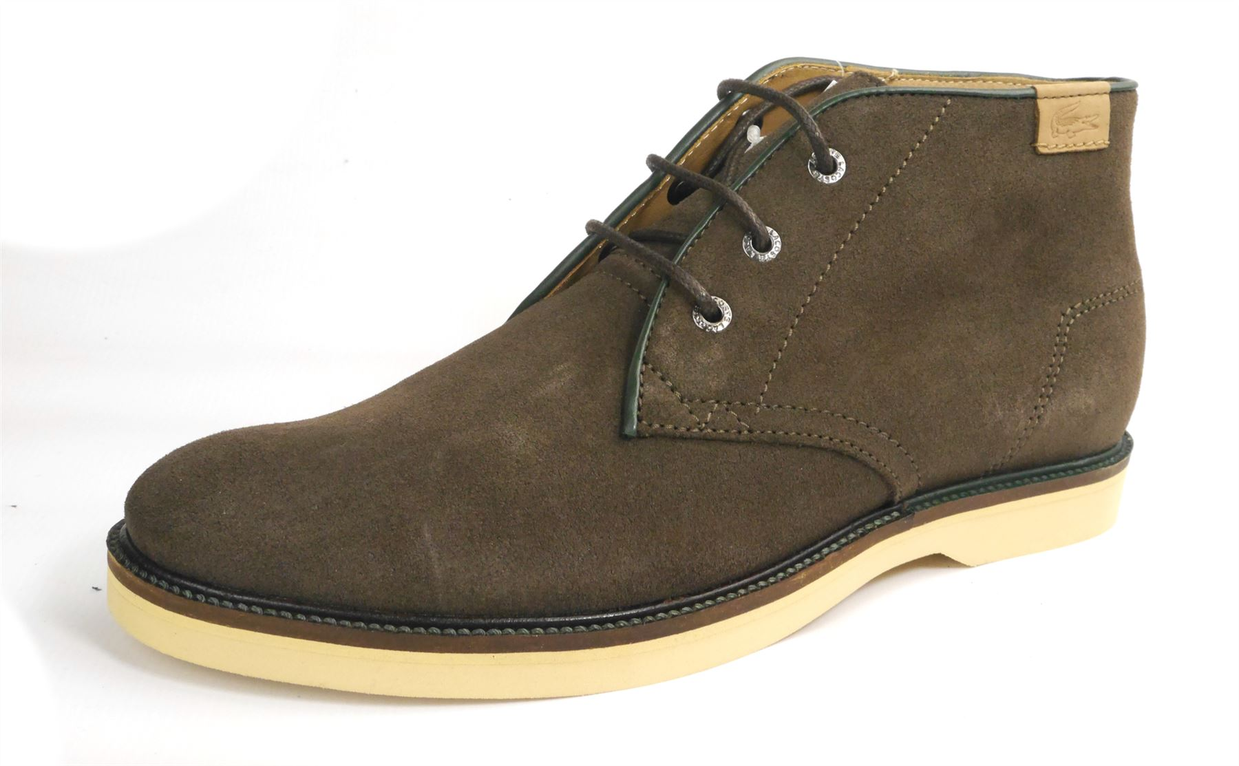 Leather Suede Desert Boots Brown