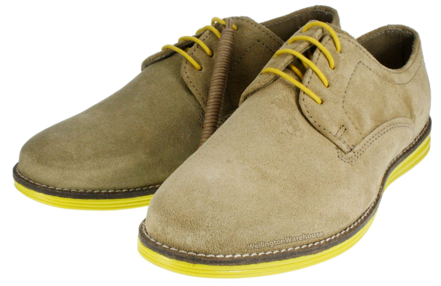 Red Tape Mens Desert Suede Leather Lace