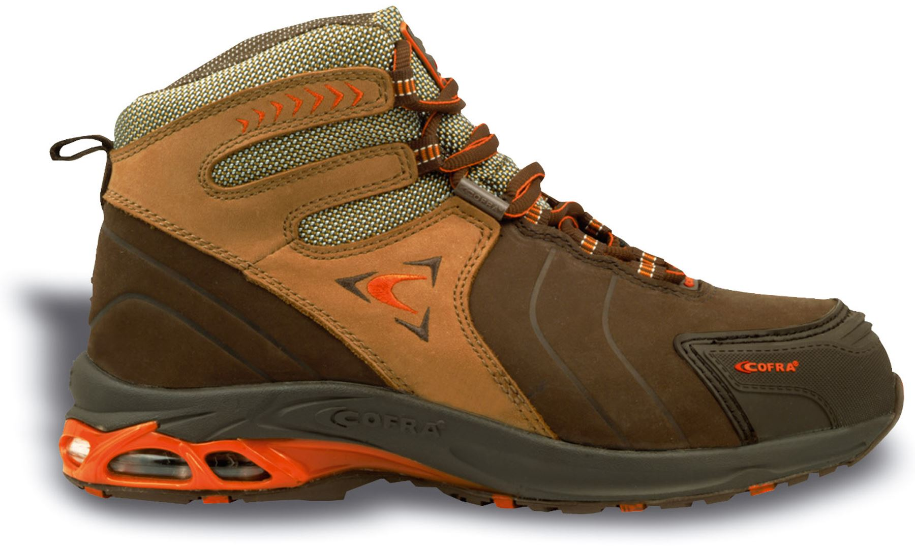 Cofra Bronx S3 Leather Hiker Trainer Work Boots Mens