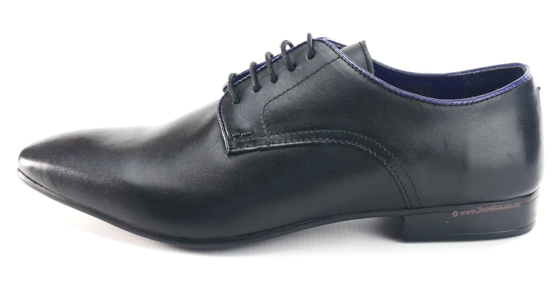 Silver Street Baker Hombre Zapatos Negro JLjAs