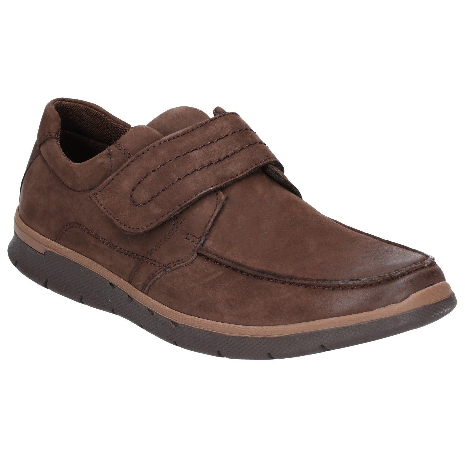 Hush Puppies Touch Fastening Mens Shoes