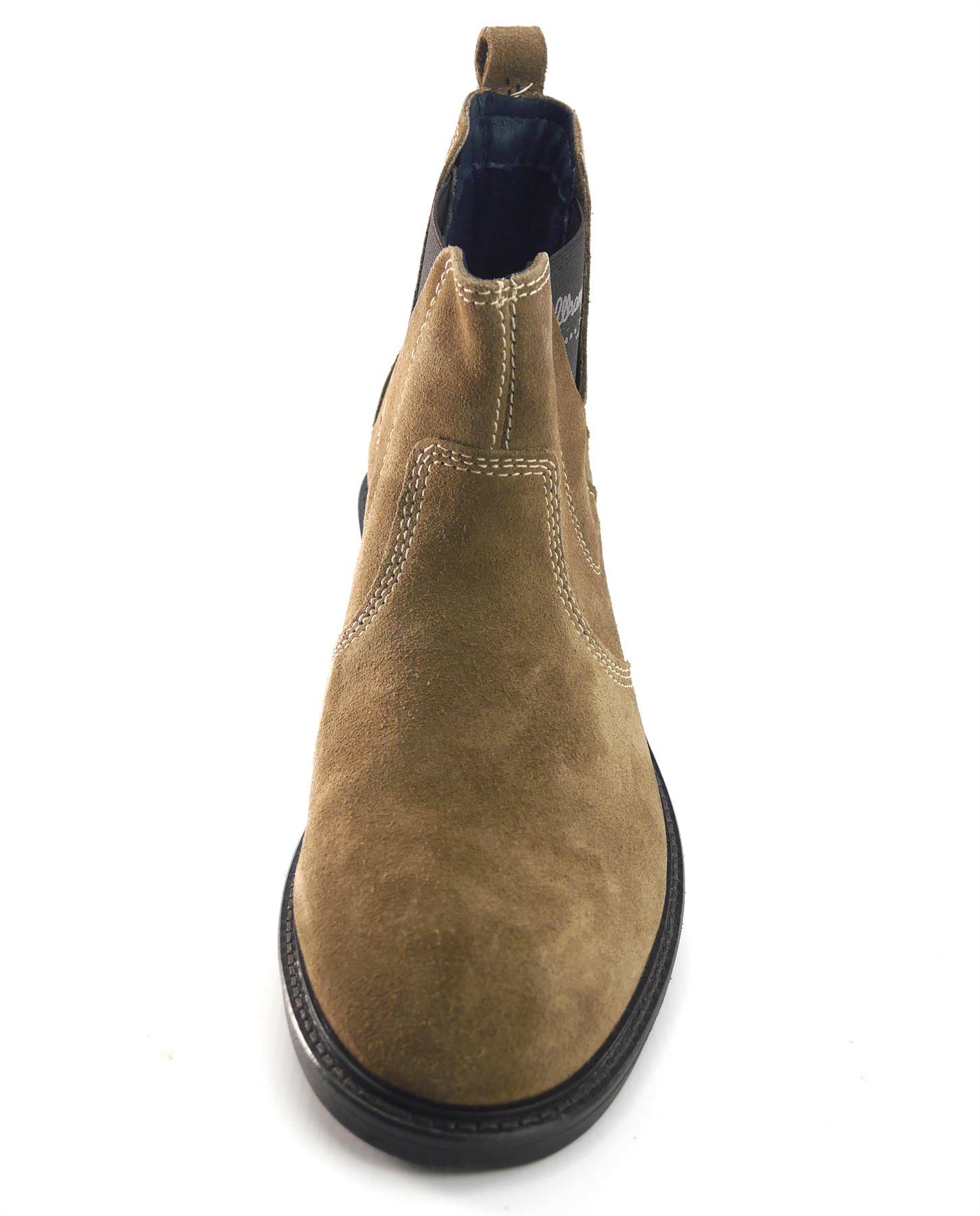 WRANGLER Da Uomo Alla Caviglia Caviglia Caviglia Chelsea Roll in pelle scamosciata Marroneee Stivali Pull On | Buona Reputazione Over The World  | Uomini/Donne Scarpa  32a99f