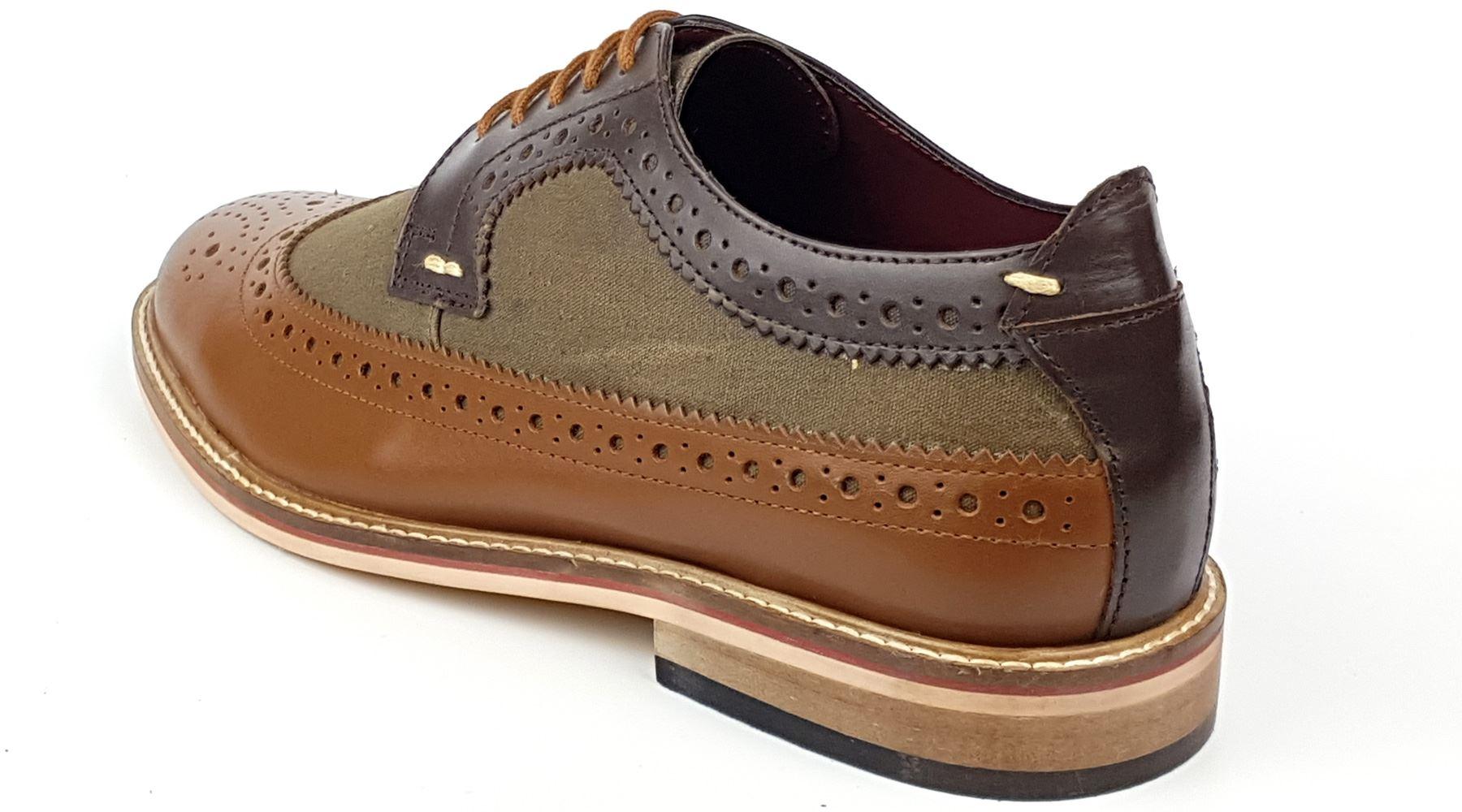Frank James Lambeth Deux Ton Lacet Richelieu Chaussures