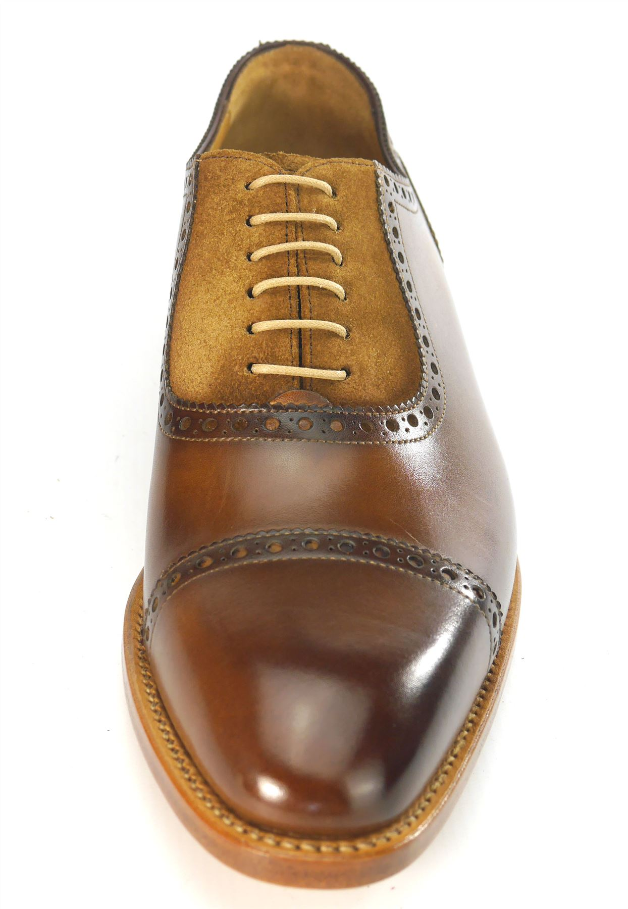Carlos Santos 4391 Shoes Lace Up Welted All Leather Handmade Shoes 4391 Algarve Brown a37d65