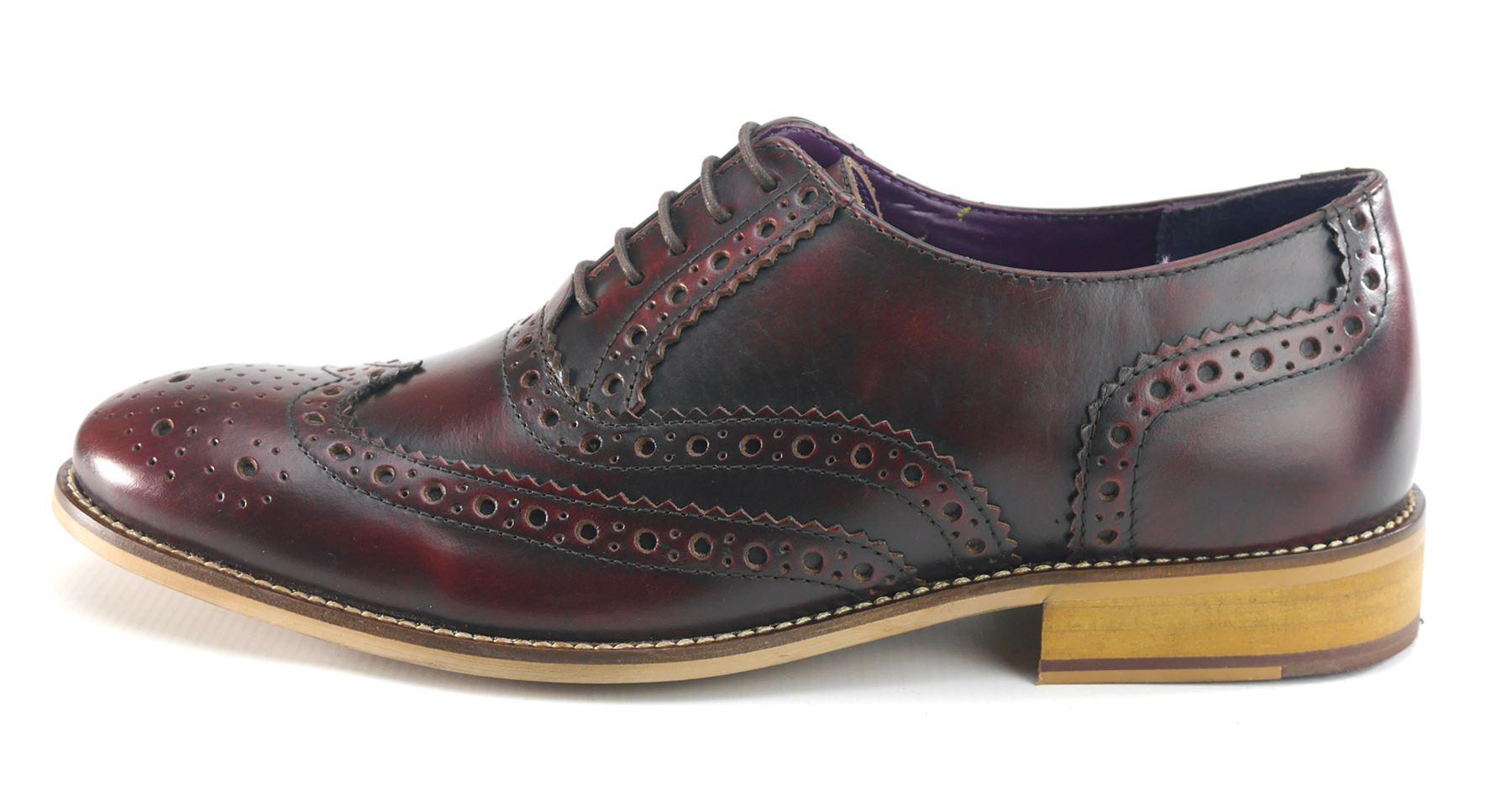 Frank James ROTford Leder Wedding Lace Up Herren Fashion Brogues   Herren Up Schuhes 138b67