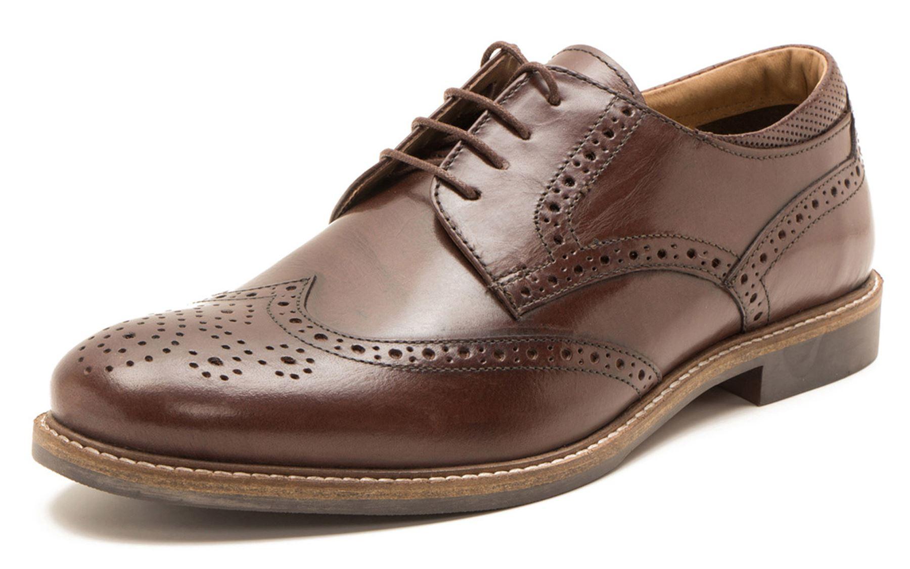 Red Tape - Zapatos de cordones para hombre marrón marrón U058wB