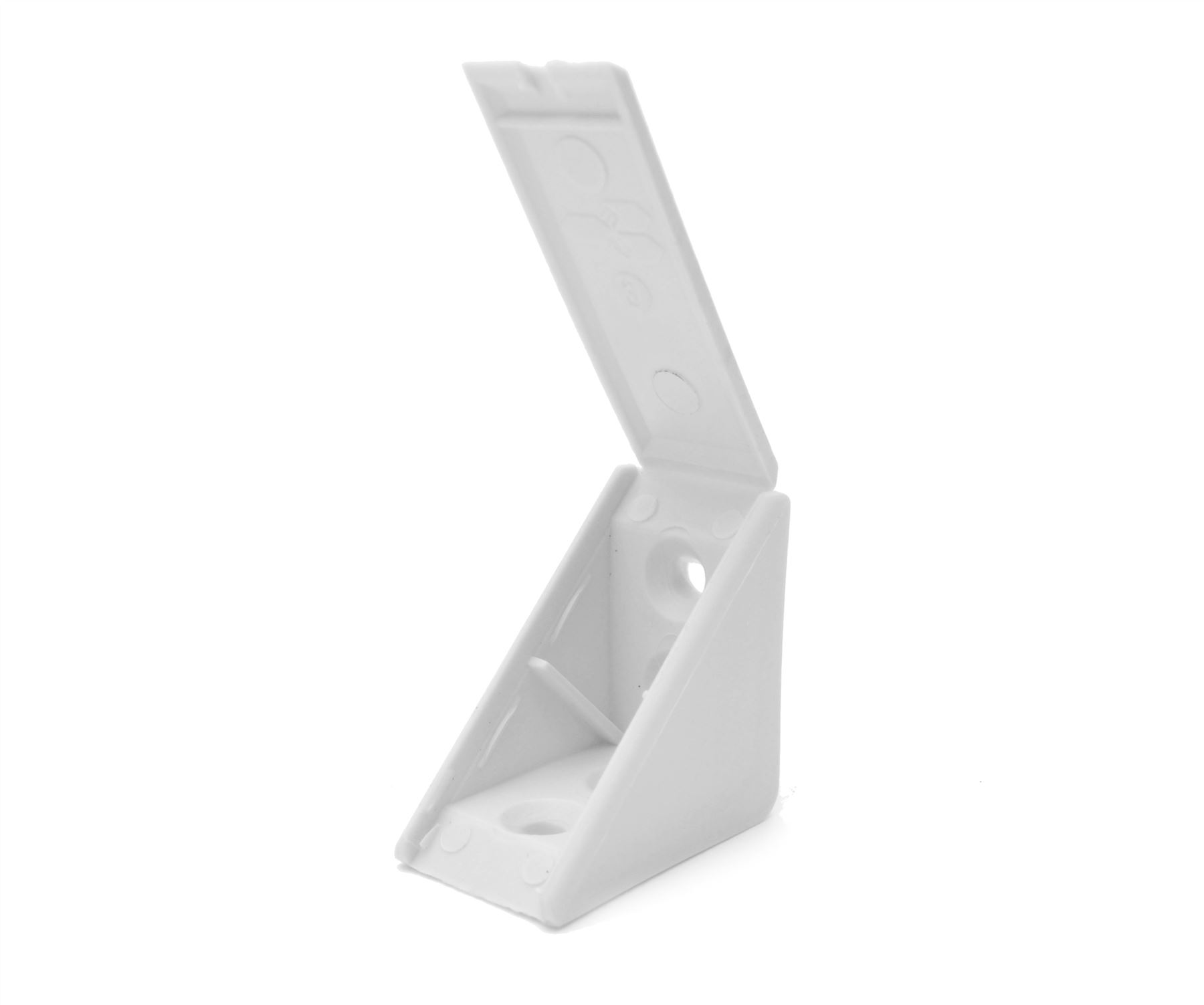 KITCHEN CABINET SHELF SUPPORTS PEGS PINS PLASTIC DOUBLE