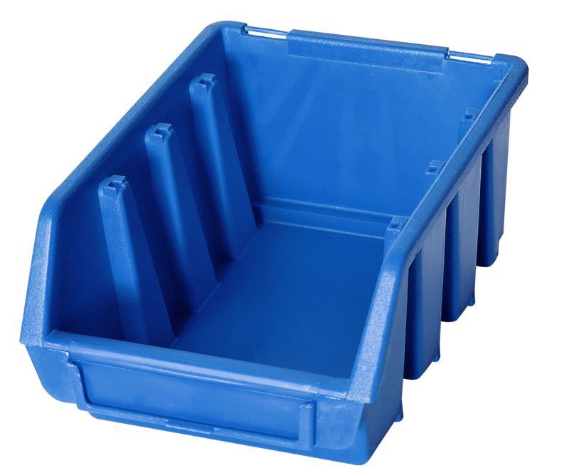 Ergo-Bleu-Noir-Rouge-Bac-de-rangement-Bacs-en-plastique-Toutes-les-tailles miniature 10