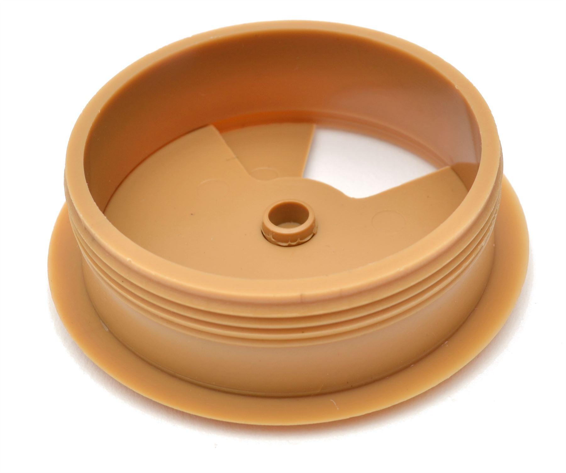 60mm-pc-computer-Scrivania-da-PLASTICA-PASSACAVO-tabella-cavo-ordinato-wire-Hole-copertura miniatura 58