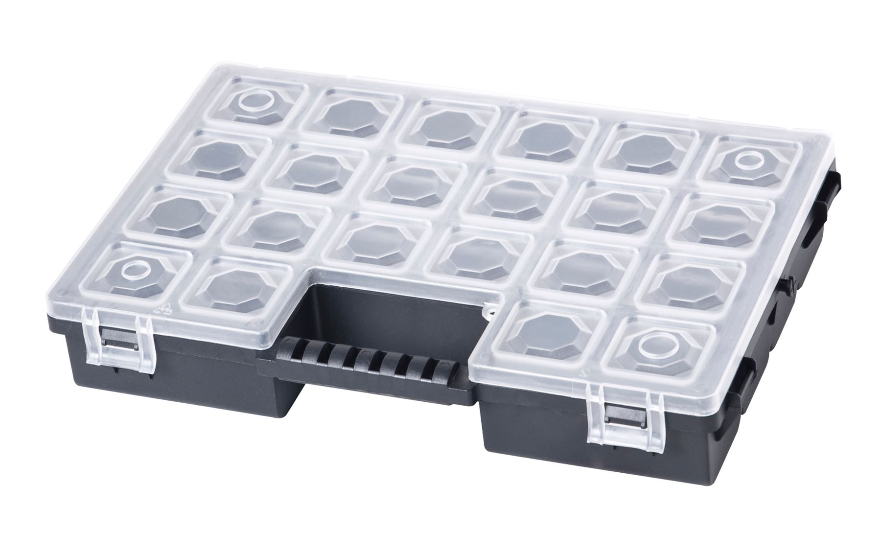 Plastic Slots Container Jewelry Tool Box Case Organizer Storage Beads ALL SIZES