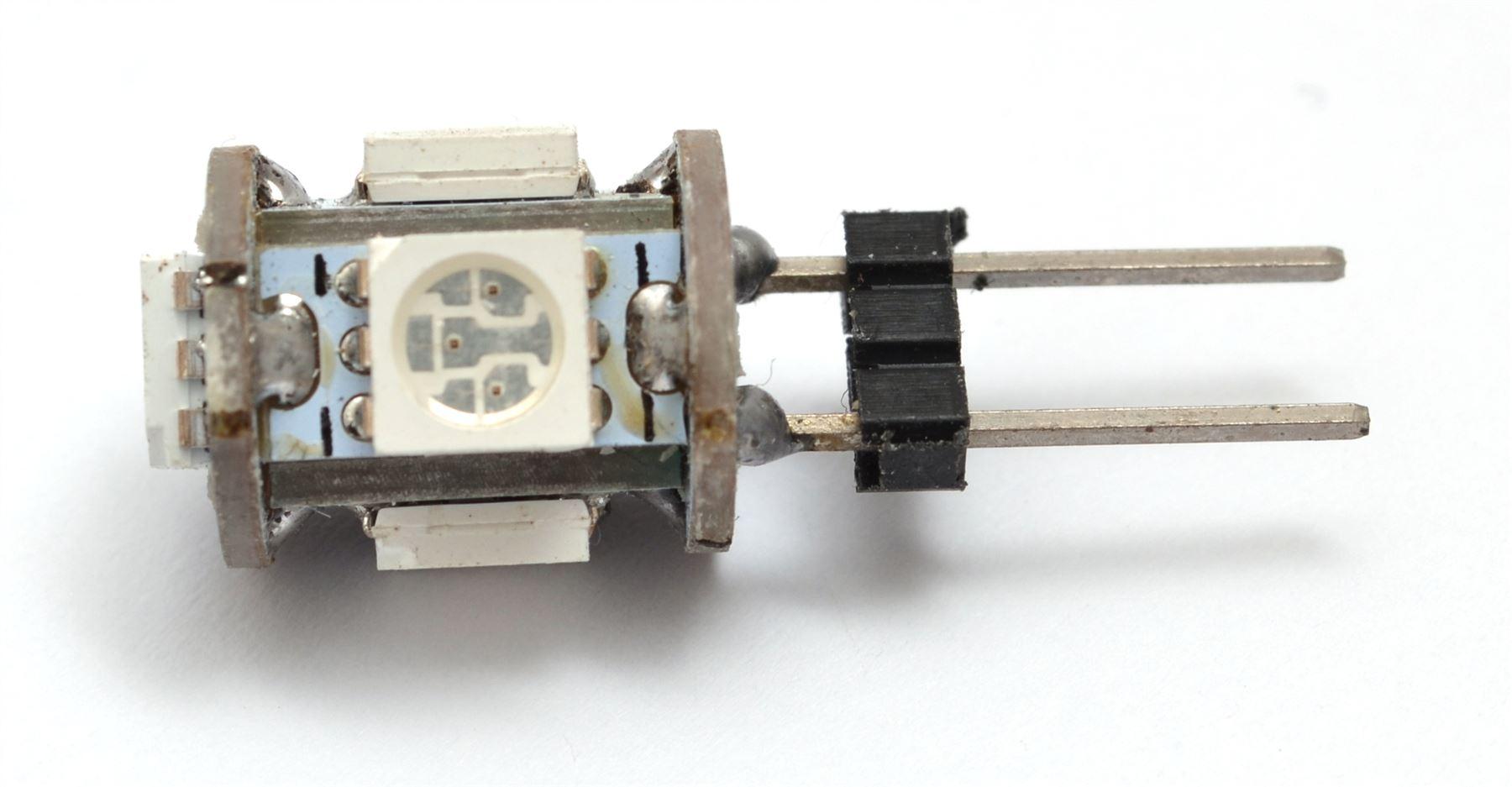 G4-LED-AC-DC-12V-220V-COB-Light-Bulb-Lamp-Car-Boat-Caravan-Direct-Halogen-Rep miniatuur 4