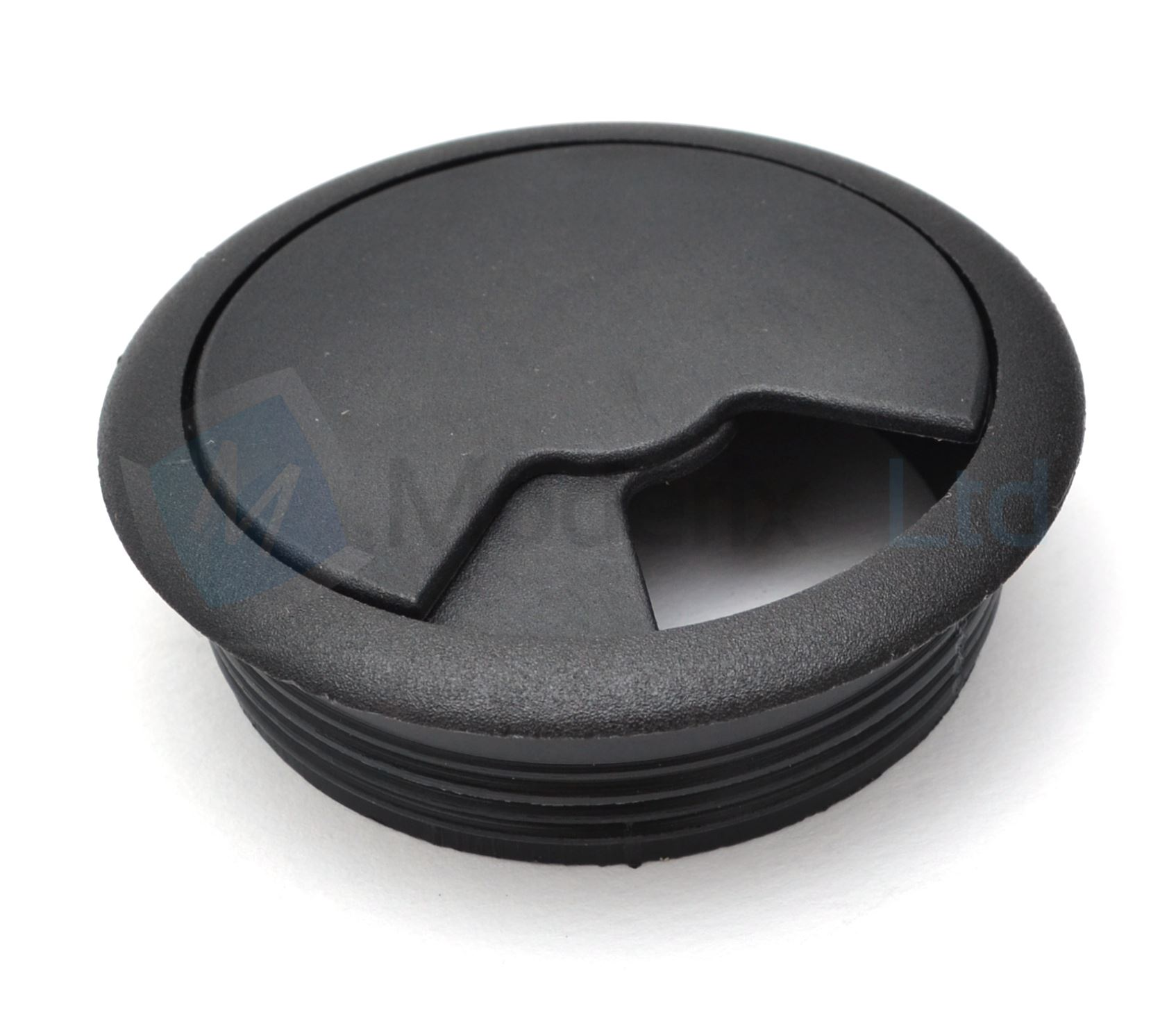 60mm pc computer desk plastic grommet table cable tidy wire hole cover ebay. Black Bedroom Furniture Sets. Home Design Ideas