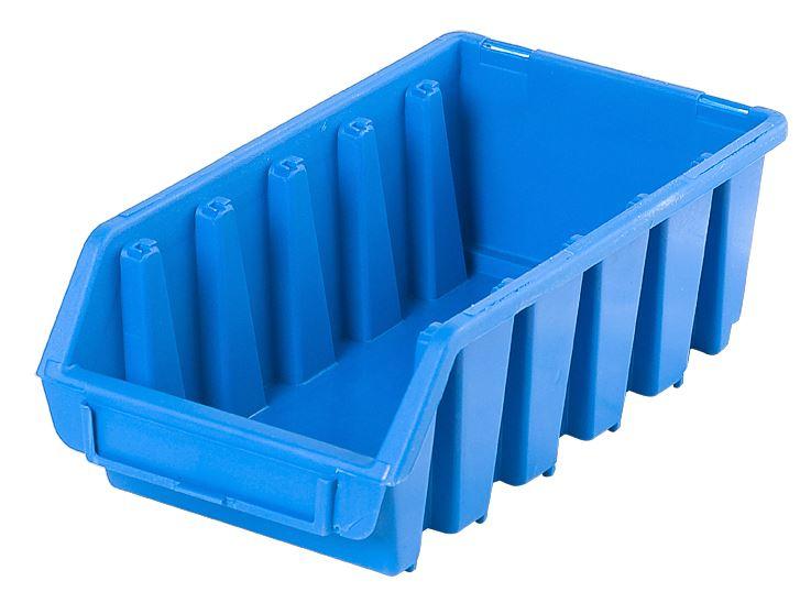 Ergo-Bleu-Noir-Rouge-Bac-de-rangement-Bacs-en-plastique-Toutes-les-tailles miniature 22