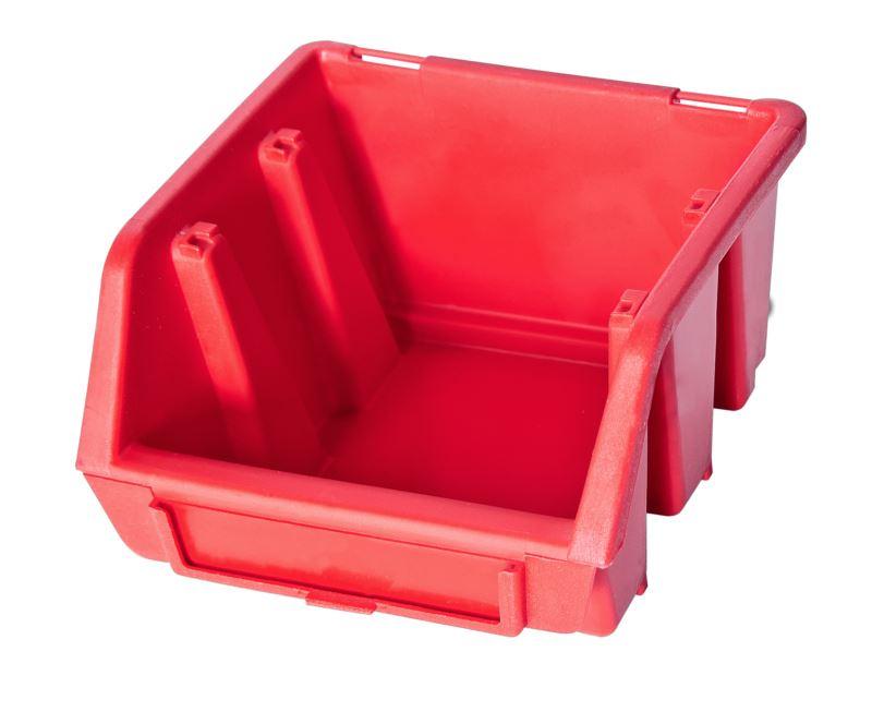 Ergo-Bleu-Noir-Rouge-Bac-de-rangement-Bacs-en-plastique-Toutes-les-tailles miniature 6
