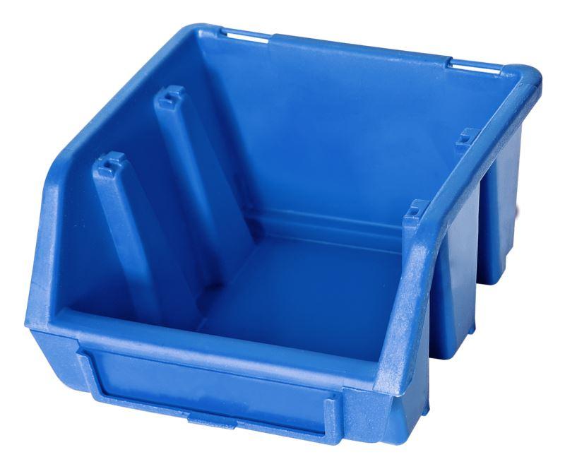 Ergo-Bleu-Noir-Rouge-Bac-de-rangement-Bacs-en-plastique-Toutes-les-tailles miniature 4