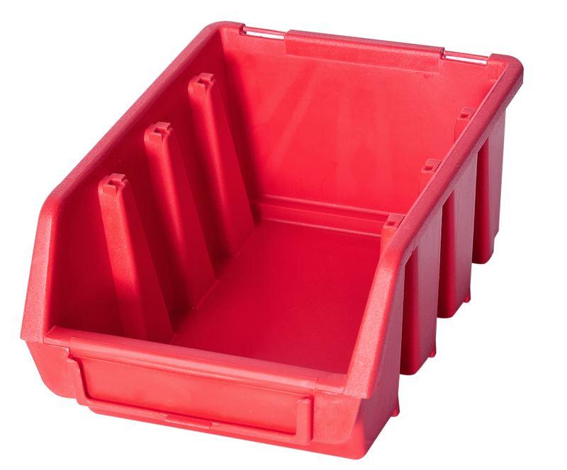 Ergo-Bleu-Noir-Rouge-Bac-de-rangement-Bacs-en-plastique-Toutes-les-tailles miniature 12