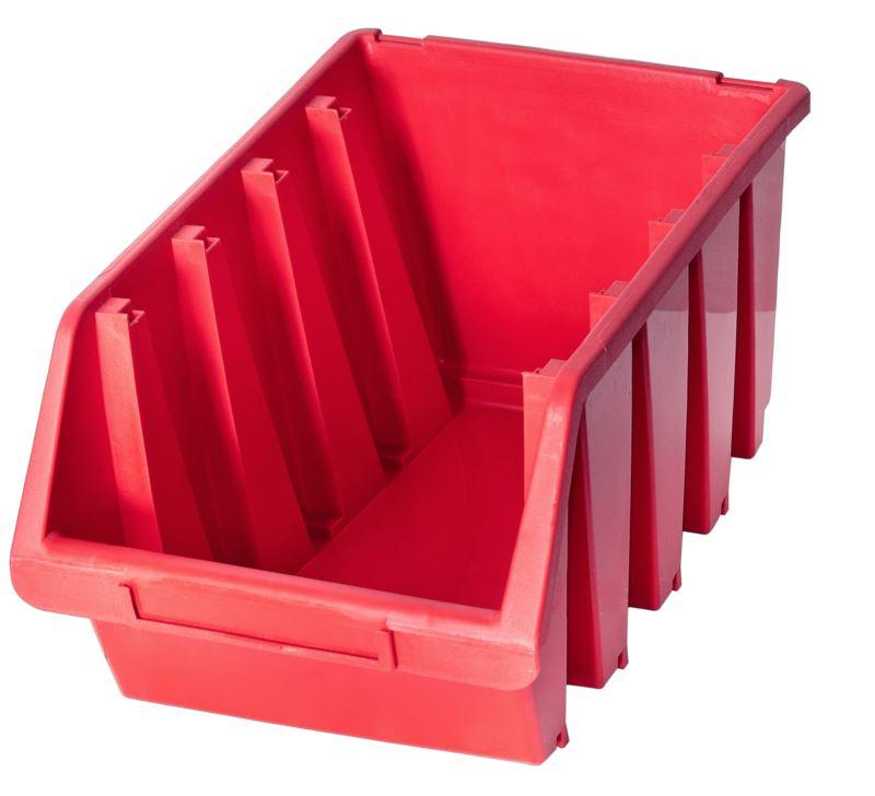 Ergo-Bleu-Noir-Rouge-Bac-de-rangement-Bacs-en-plastique-Toutes-les-tailles miniature 36