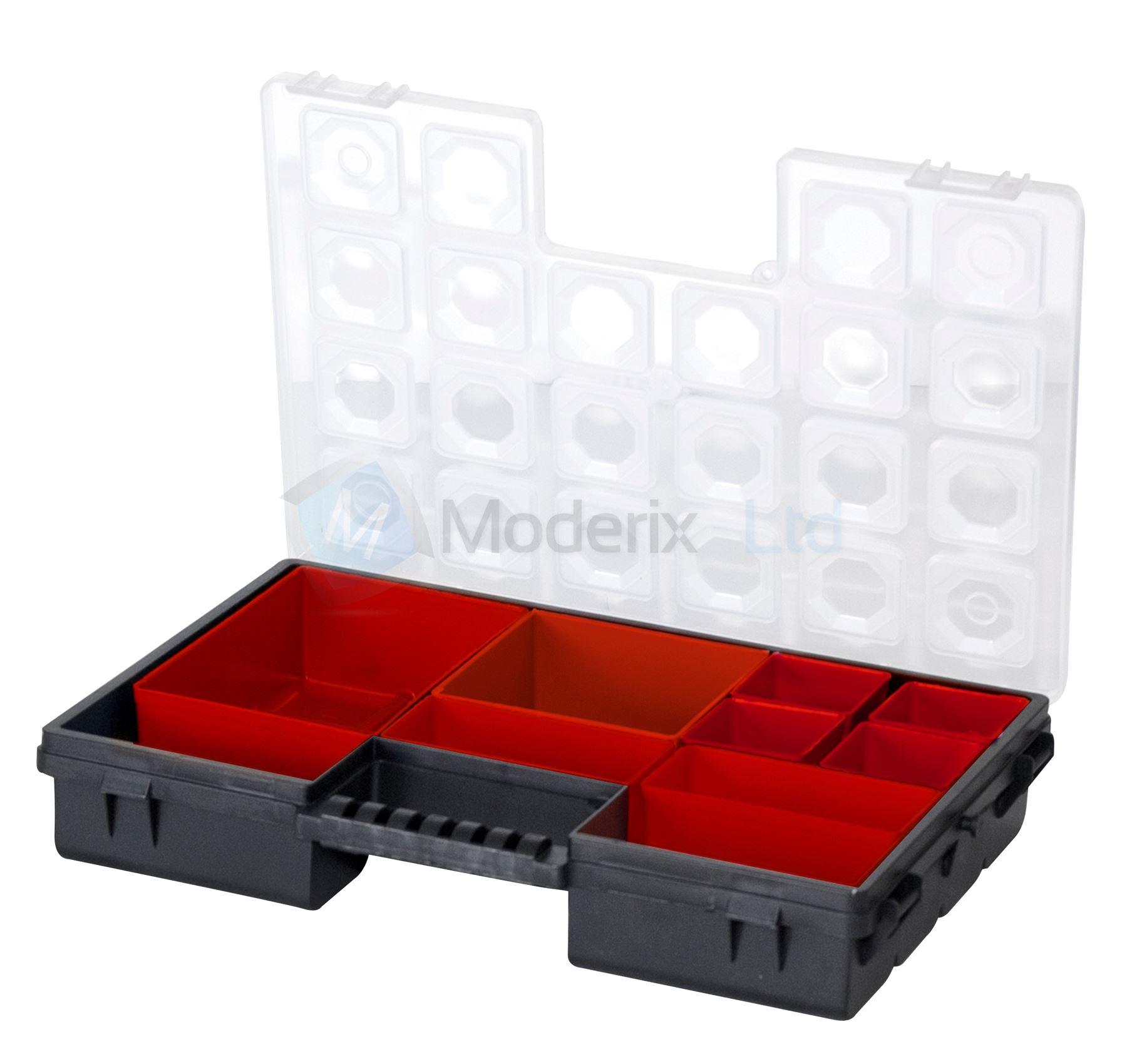10 Steckpl 228 Tze Schmuck Einstellbar Box Kasten Organisator
