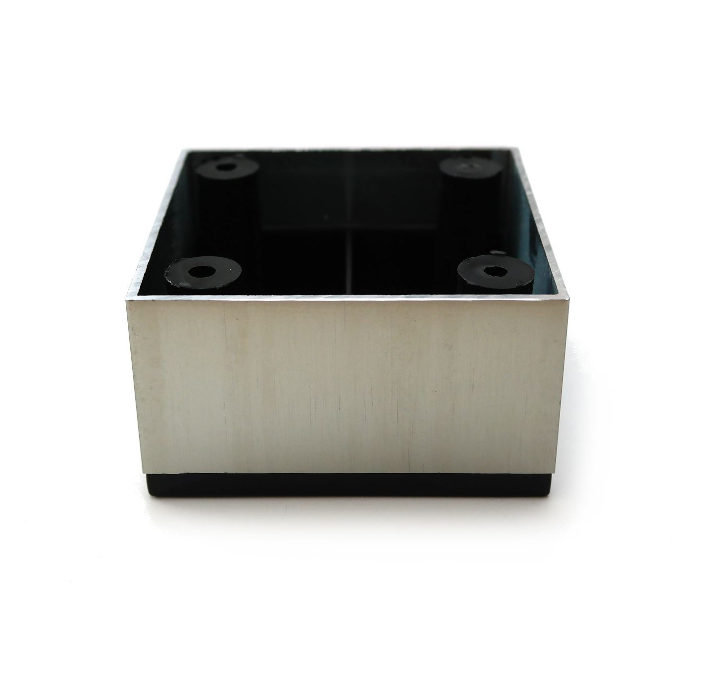 aluminium f e beine schr nke schlafsofa k che m bel chrom 25mm 35mm ebay. Black Bedroom Furniture Sets. Home Design Ideas