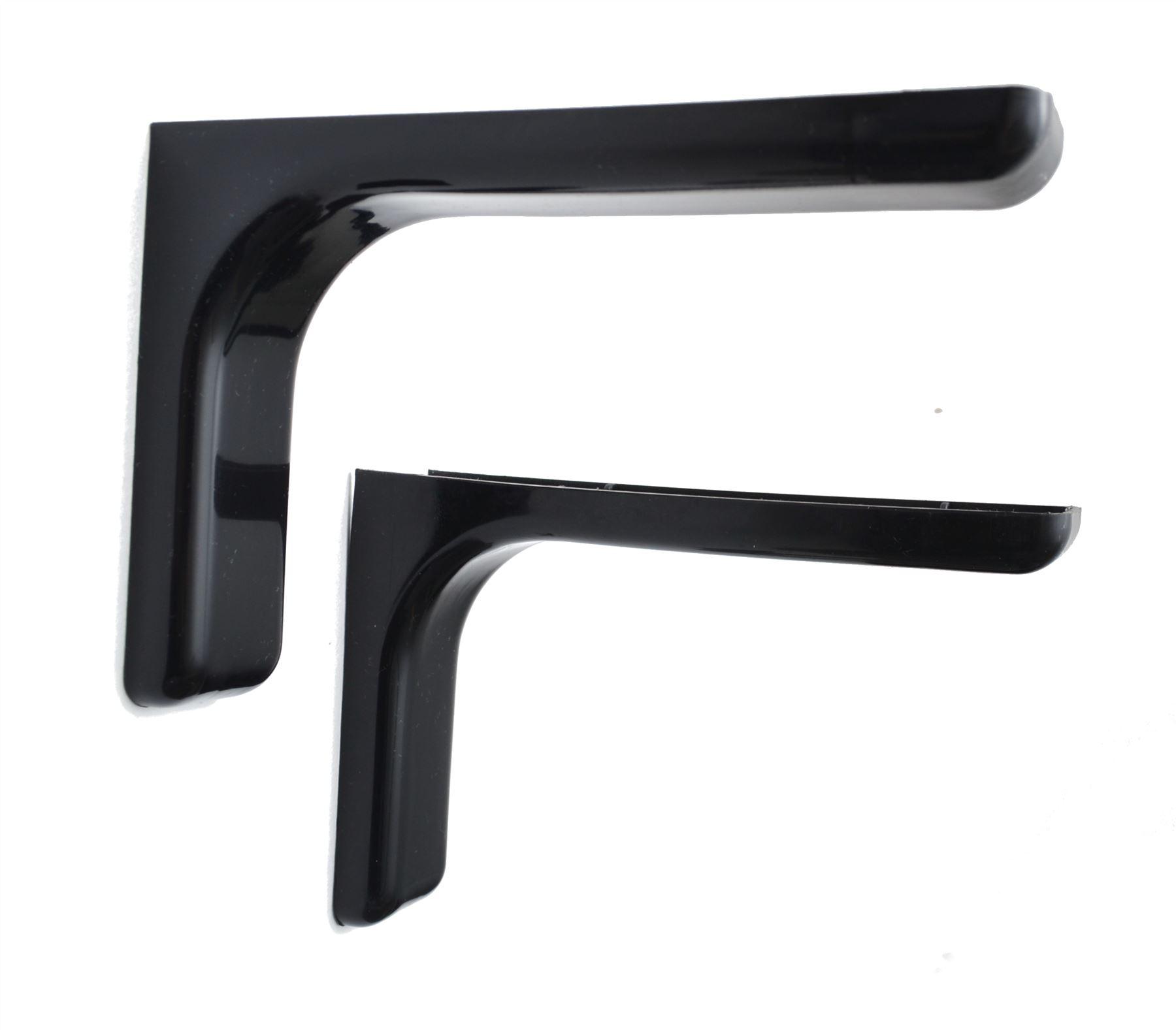 shelf support bracket with covers 120 180 240mm. Black Bedroom Furniture Sets. Home Design Ideas