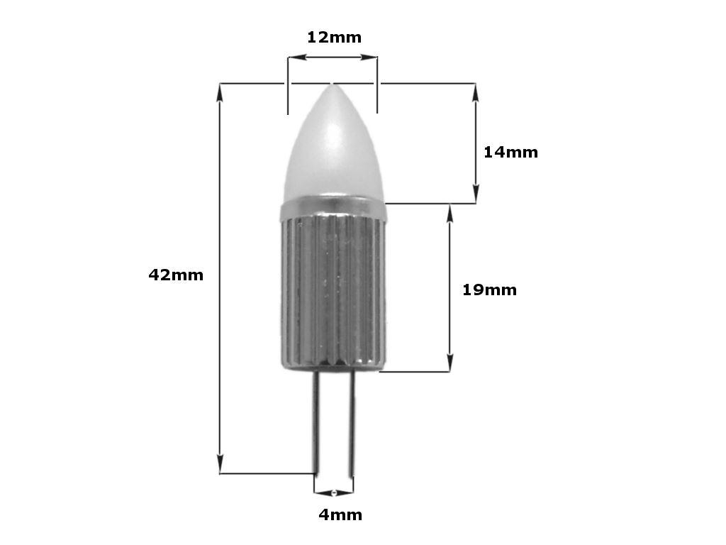 G4-LED-AC-DC-12V-220V-COB-Light-Bulb-Lamp-Car-Boat-Caravan-Direct-Halogen-Rep miniatuur 9