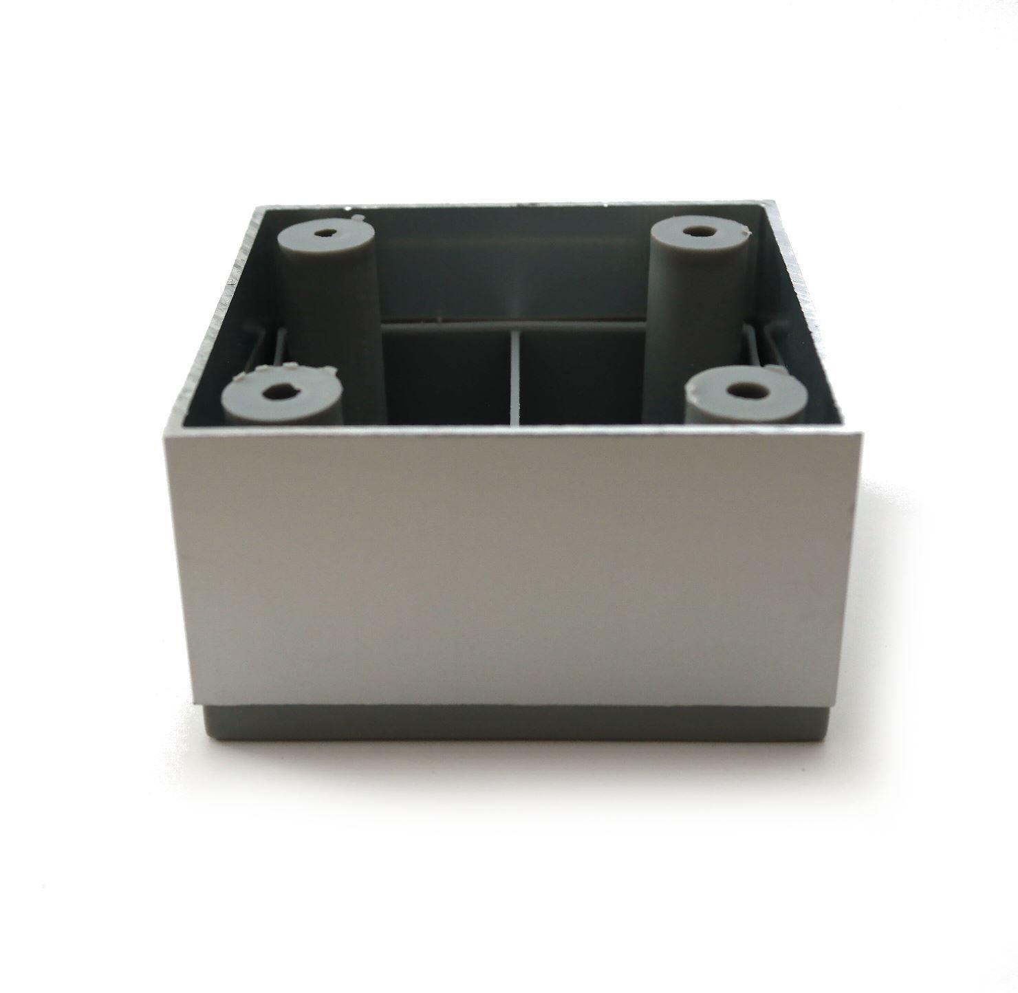 Aluminium f e beine schr nke schlafsofa k che m bel chrom 25mm 35mm ebay - Amazon mobel schranke ...