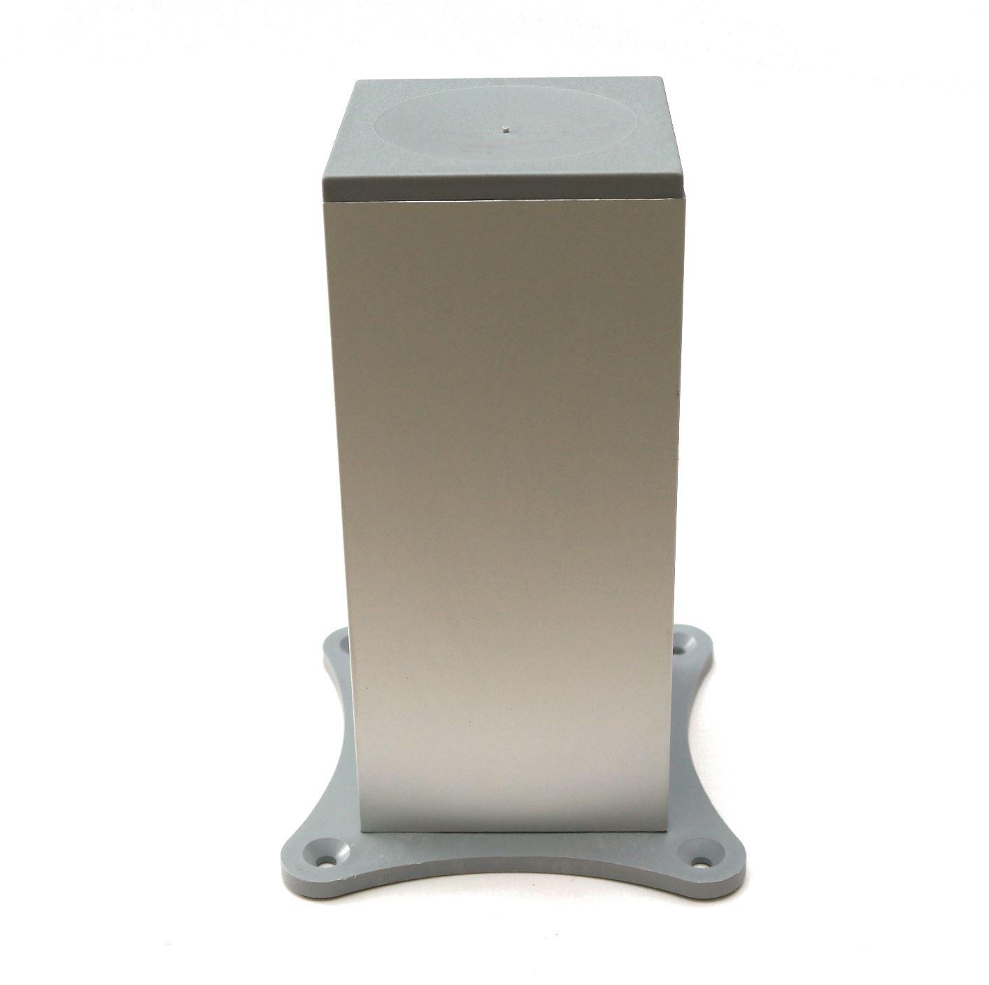 aluminium f e beine schr nke k che m bel chrom 70mm. Black Bedroom Furniture Sets. Home Design Ideas