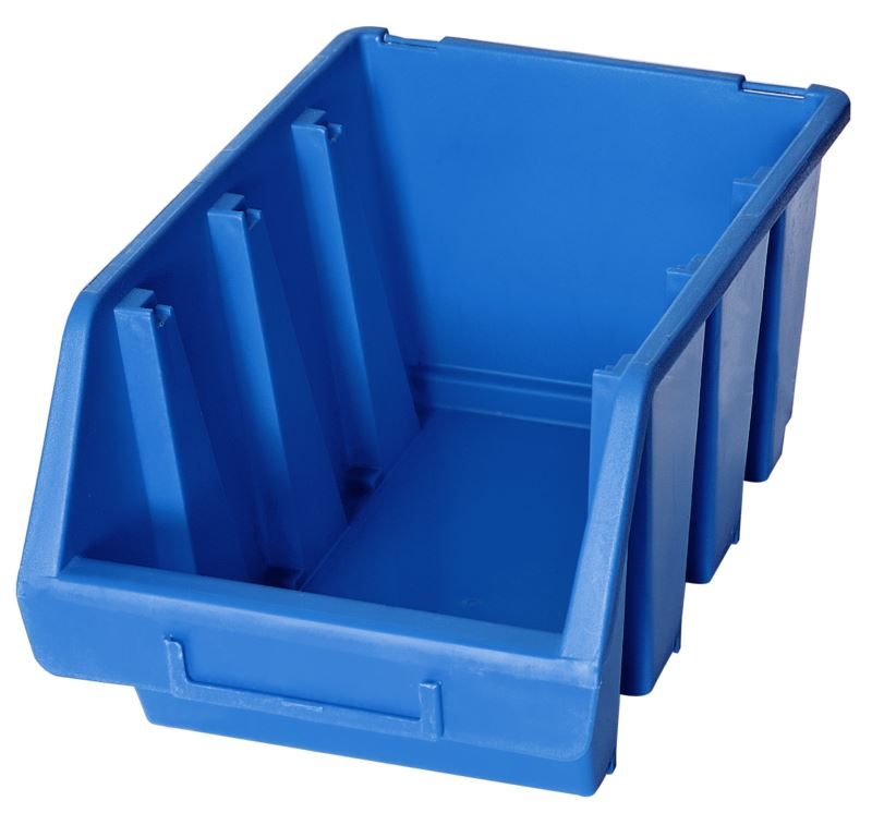 Ergo-Bleu-Noir-Rouge-Bac-de-rangement-Bacs-en-plastique-Toutes-les-tailles miniature 28