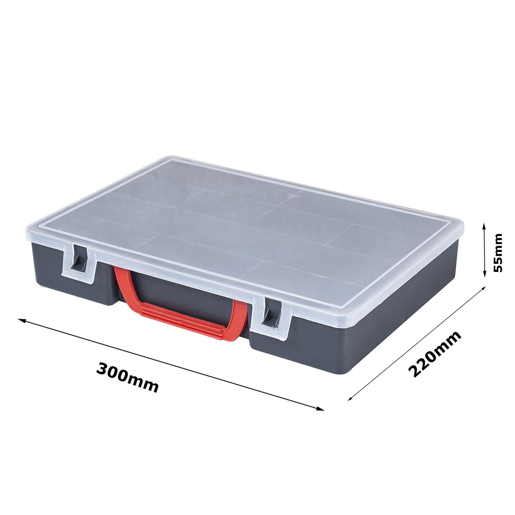 Classic boîte Compartiment plastique Organiseur BOITE DE RANGEMENT | eBay