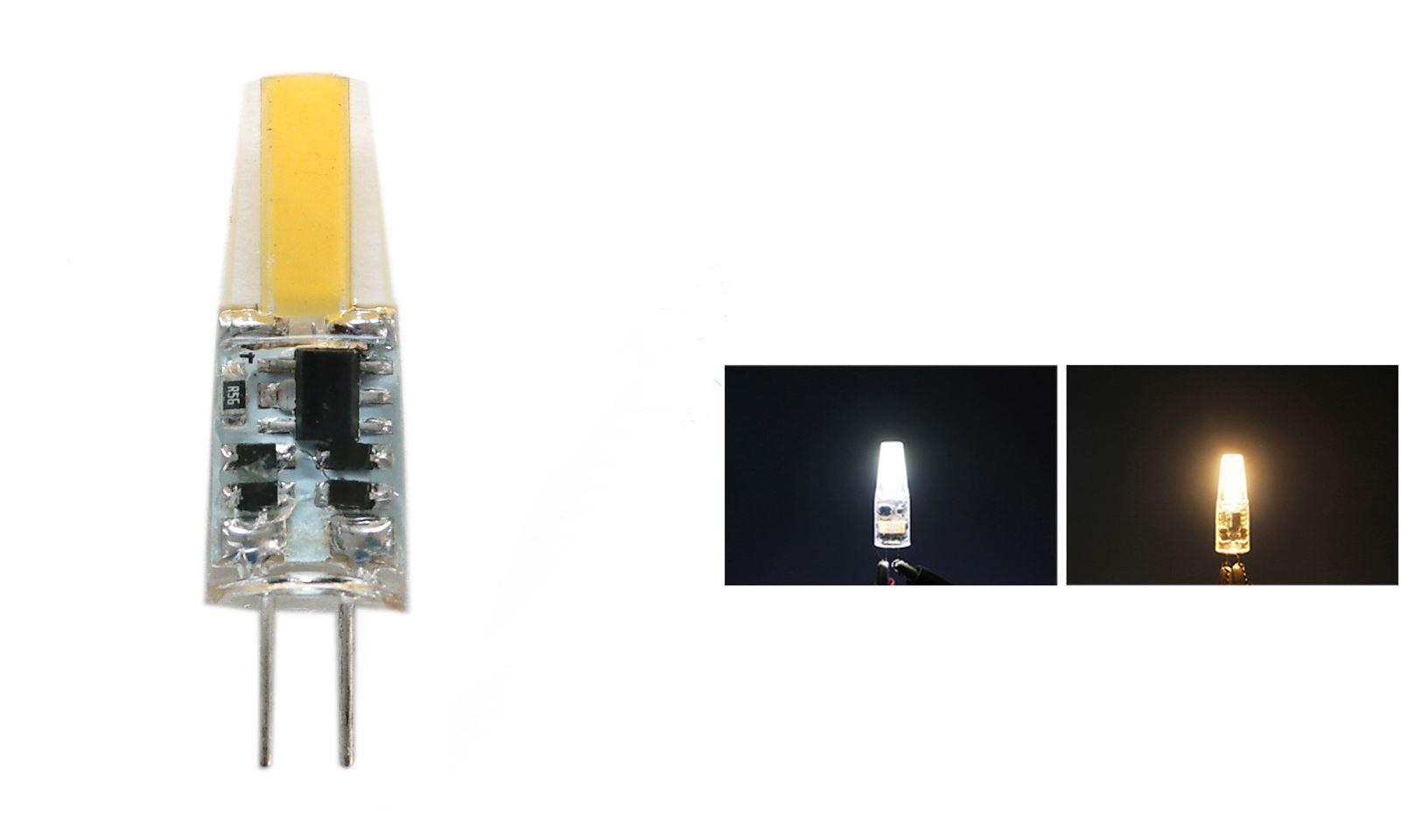 G4-LED-AC-DC-12V-220V-COB-Light-Bulb-Lamp-Car-Boat-Caravan-Direct-Halogen-Rep miniatuur 24