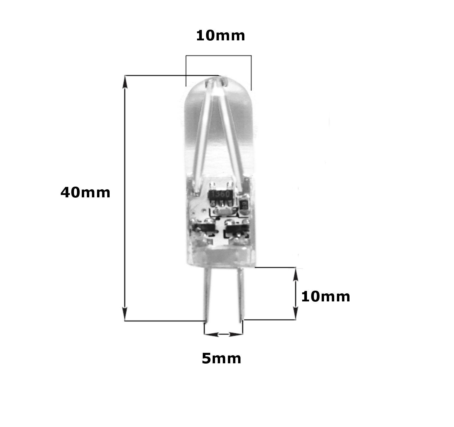 G4-LED-AC-DC-12V-220V-COB-Light-Bulb-Lamp-Car-Boat-Caravan-Direct-Halogen-Rep miniatuur 22