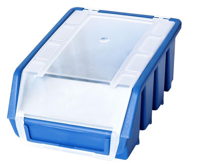 Ergo-Bleu-Noir-Rouge-Bac-de-rangement-Bacs-en-plastique-Toutes-les-tailles miniature 16