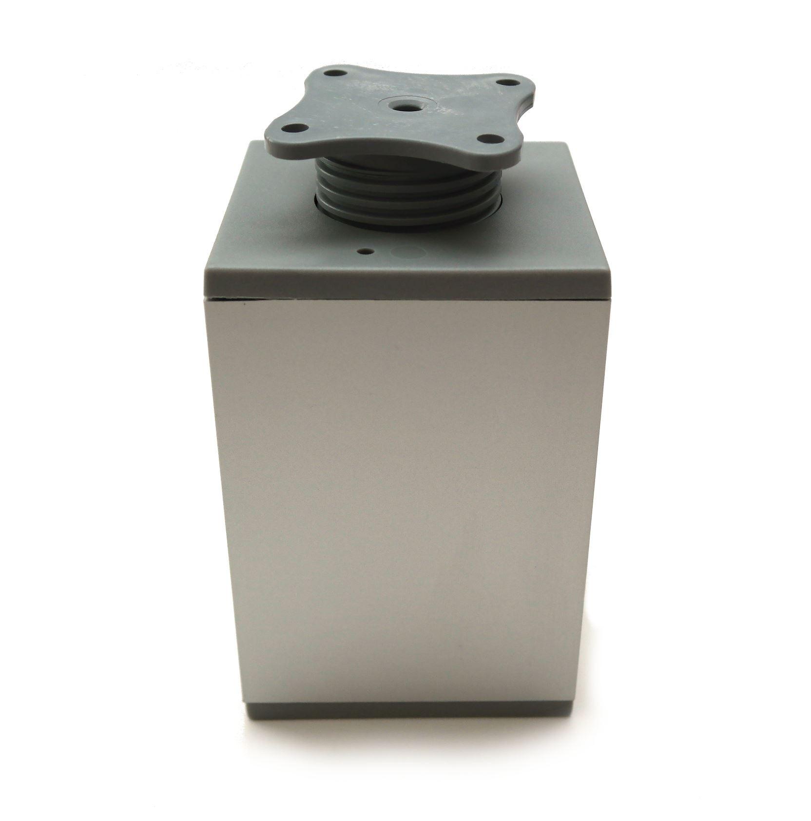 Aluminium f e beine schr nke k che m bel chrom 70mm 200mm ebay - Amazon mobel schranke ...
