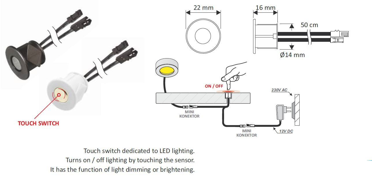 12v rf wireless manual remote switch controller dimmer for led lights