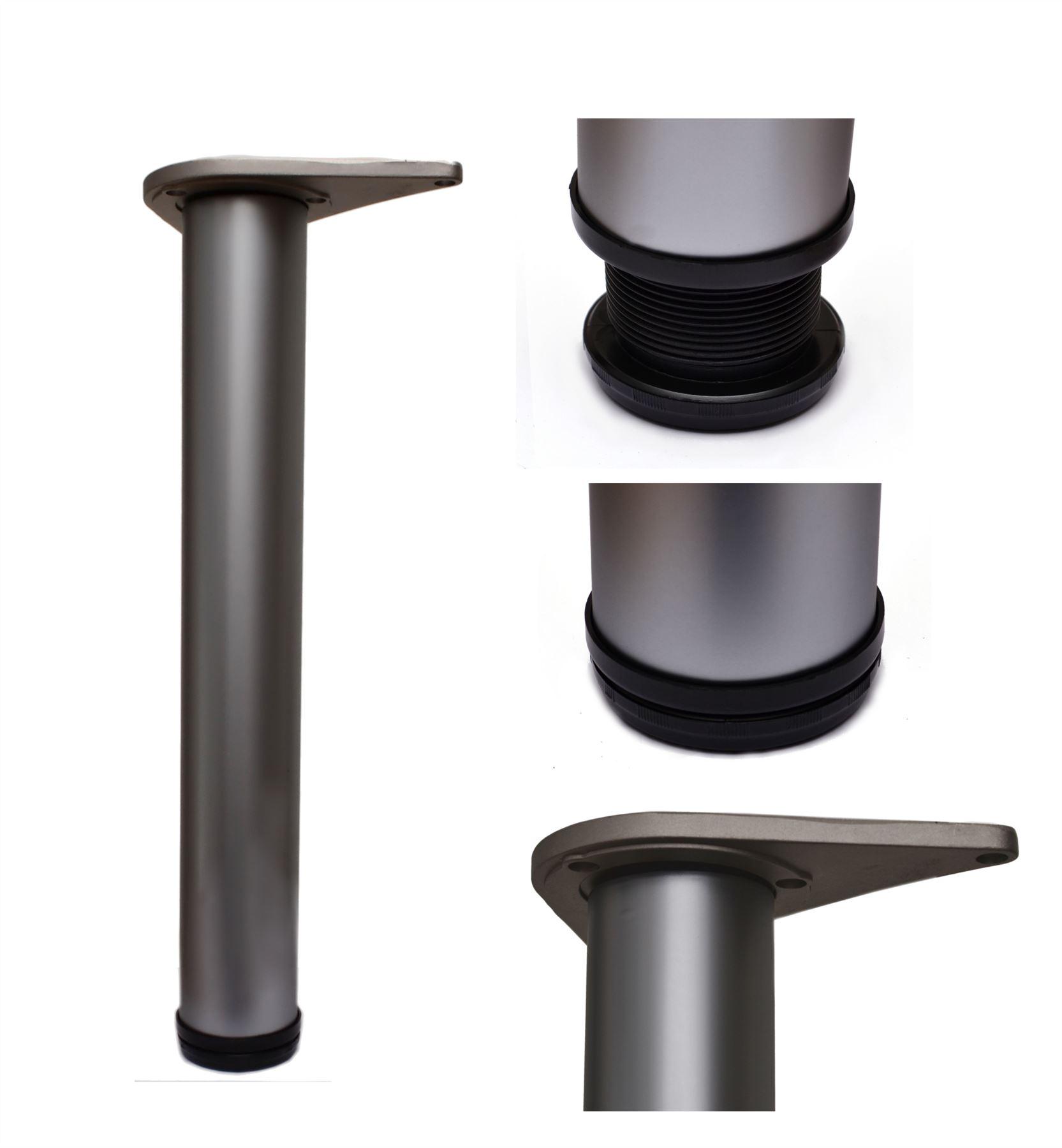 4x 1100mm Adjustable Kitchen Worktop/Desk/Breakfast Bar