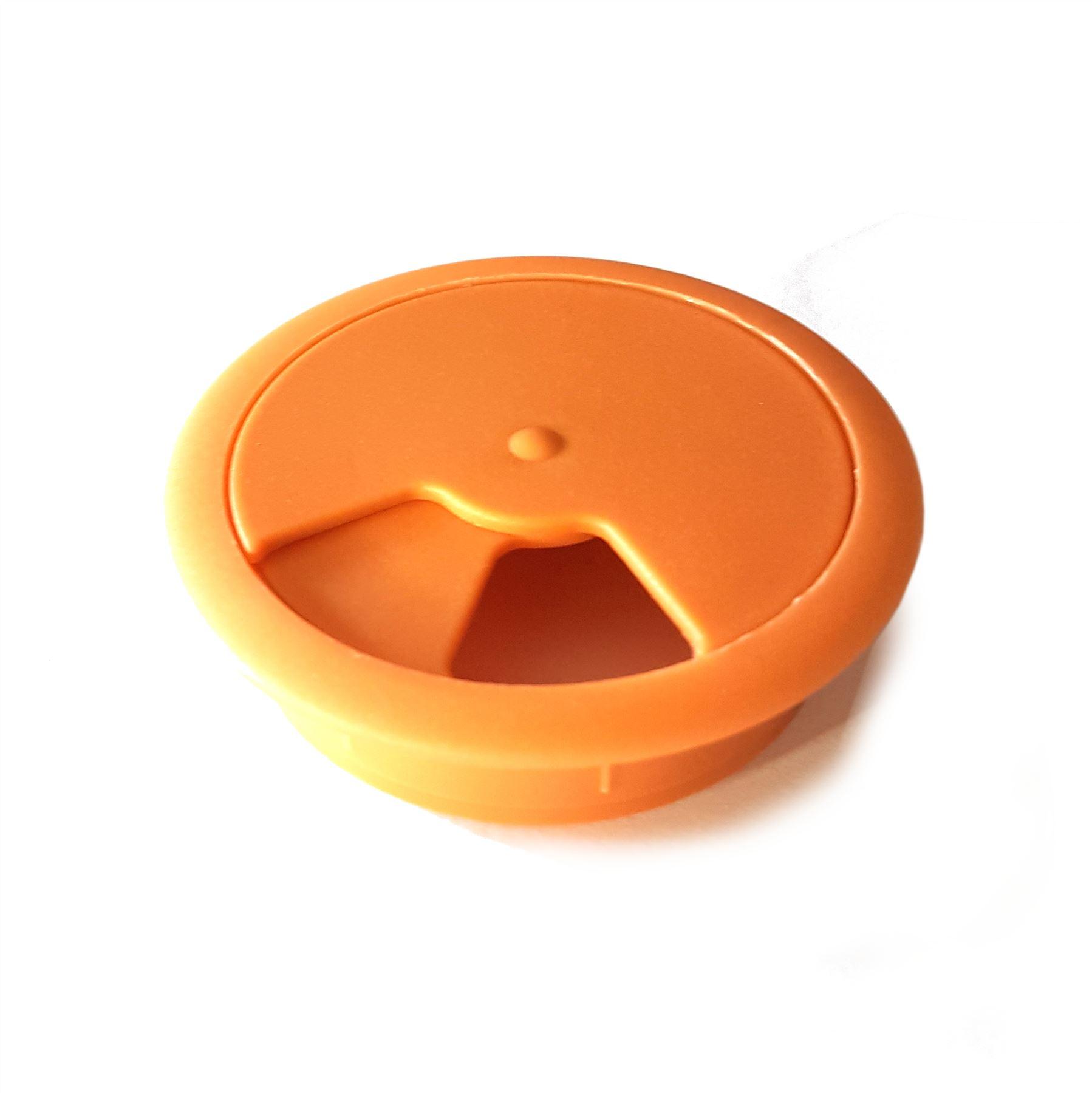 60mm-pc-computer-Scrivania-da-PLASTICA-PASSACAVO-tabella-cavo-ordinato-wire-Hole-copertura miniatura 68