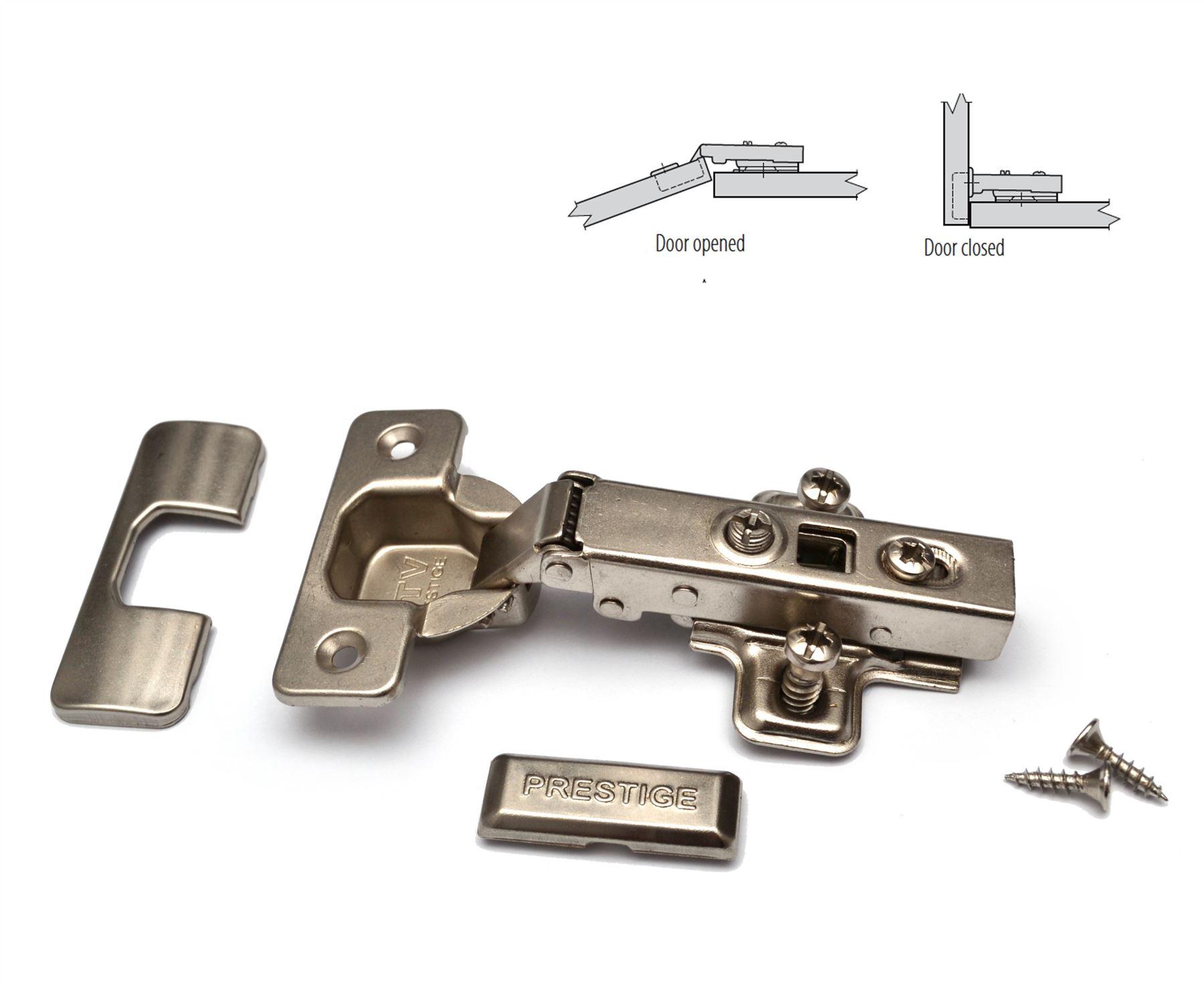Door-Hinge-GTV-Soft-Close-35mm-PRESTIGE-With-  sc 1 st  eBay & Door Hinge GTV Soft Close 35mm PRESTIGE With EURO Screws | eBay
