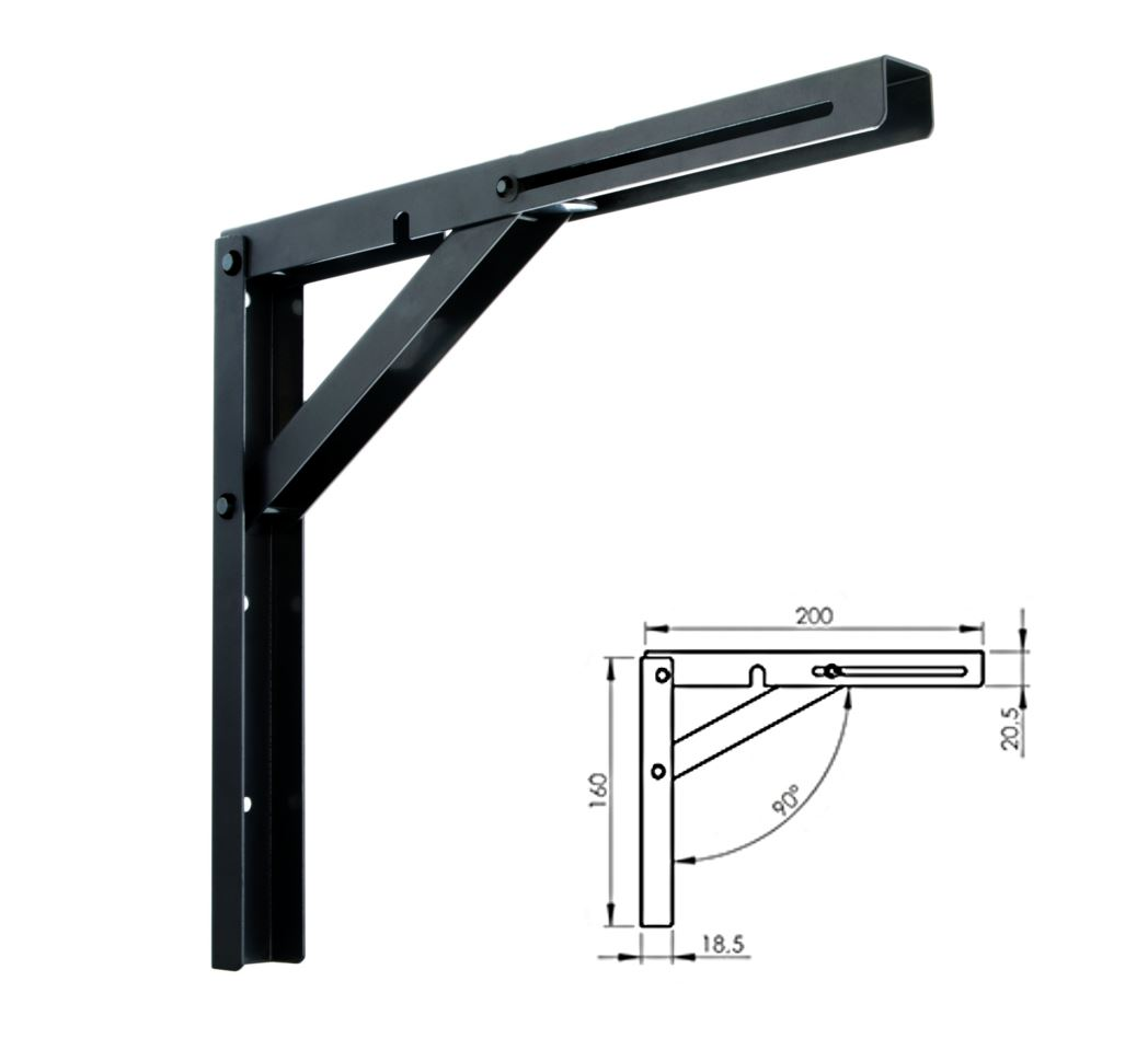on support from length heavy dhl free aliexpress triangle item lot shelf improvement brackets shipping duty home wall com bracket in mounting