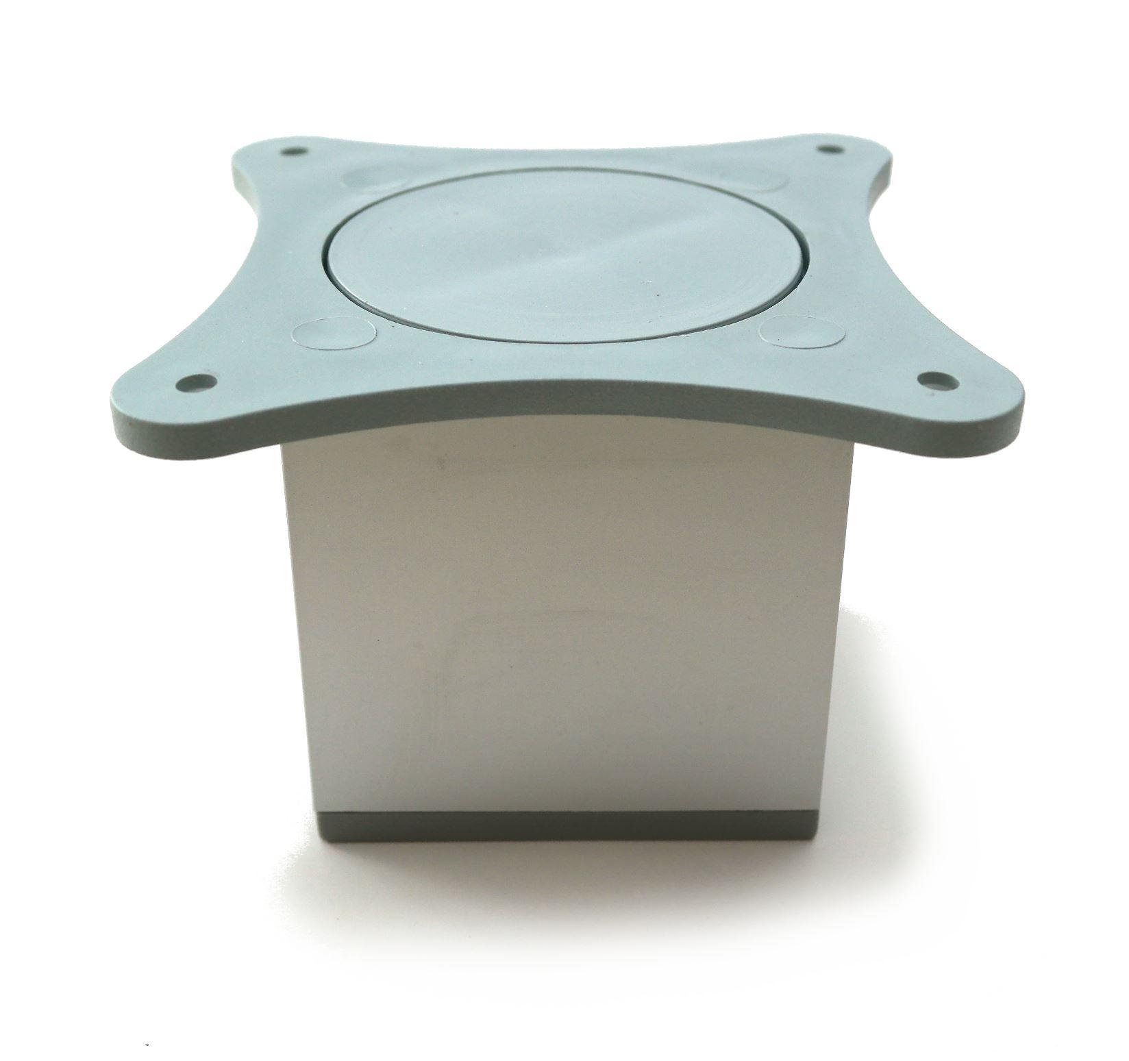 Aluminium Square Feet Plinth Cabinet Legs Cupboard Kitchen Furniture ...